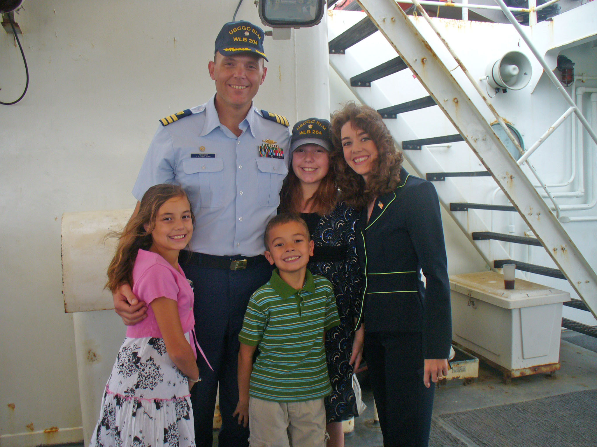 The Kennedy Family « Coast Guard Compass