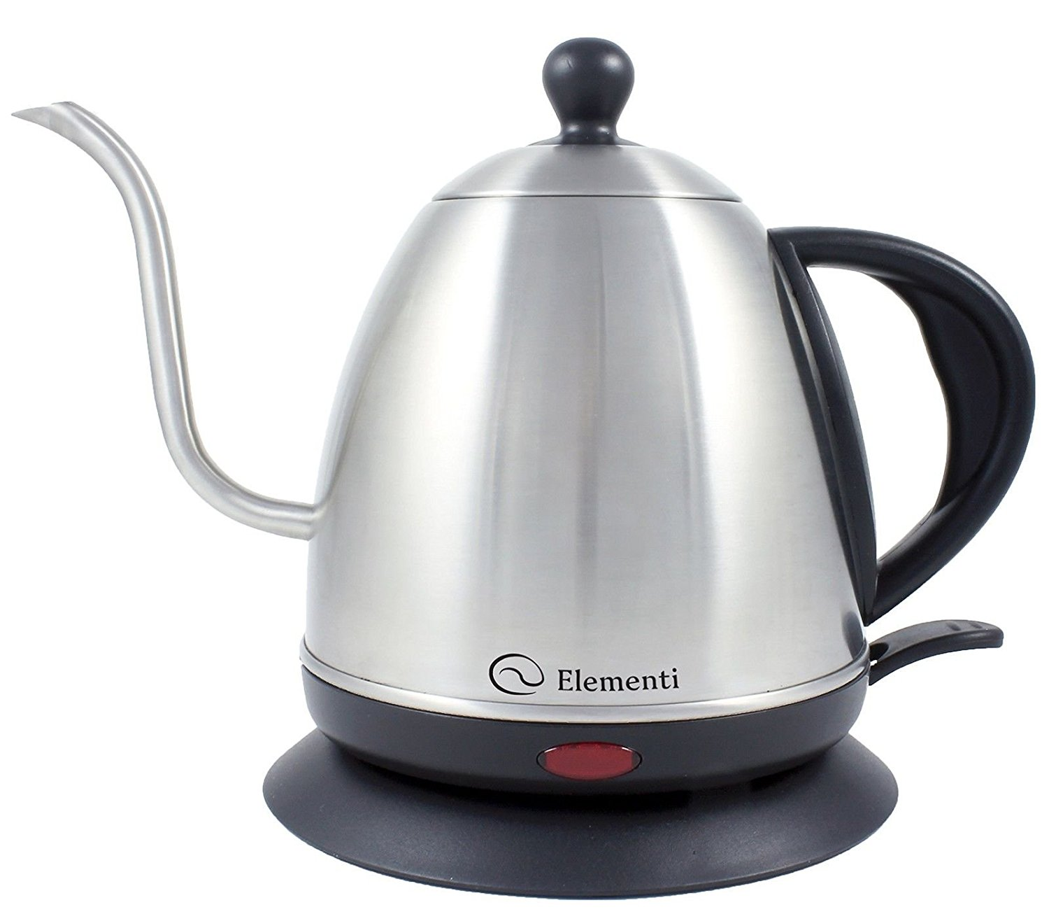 Amazon.com: Elementi Premier Electric Gooseneck Kettle for Pour Over ...