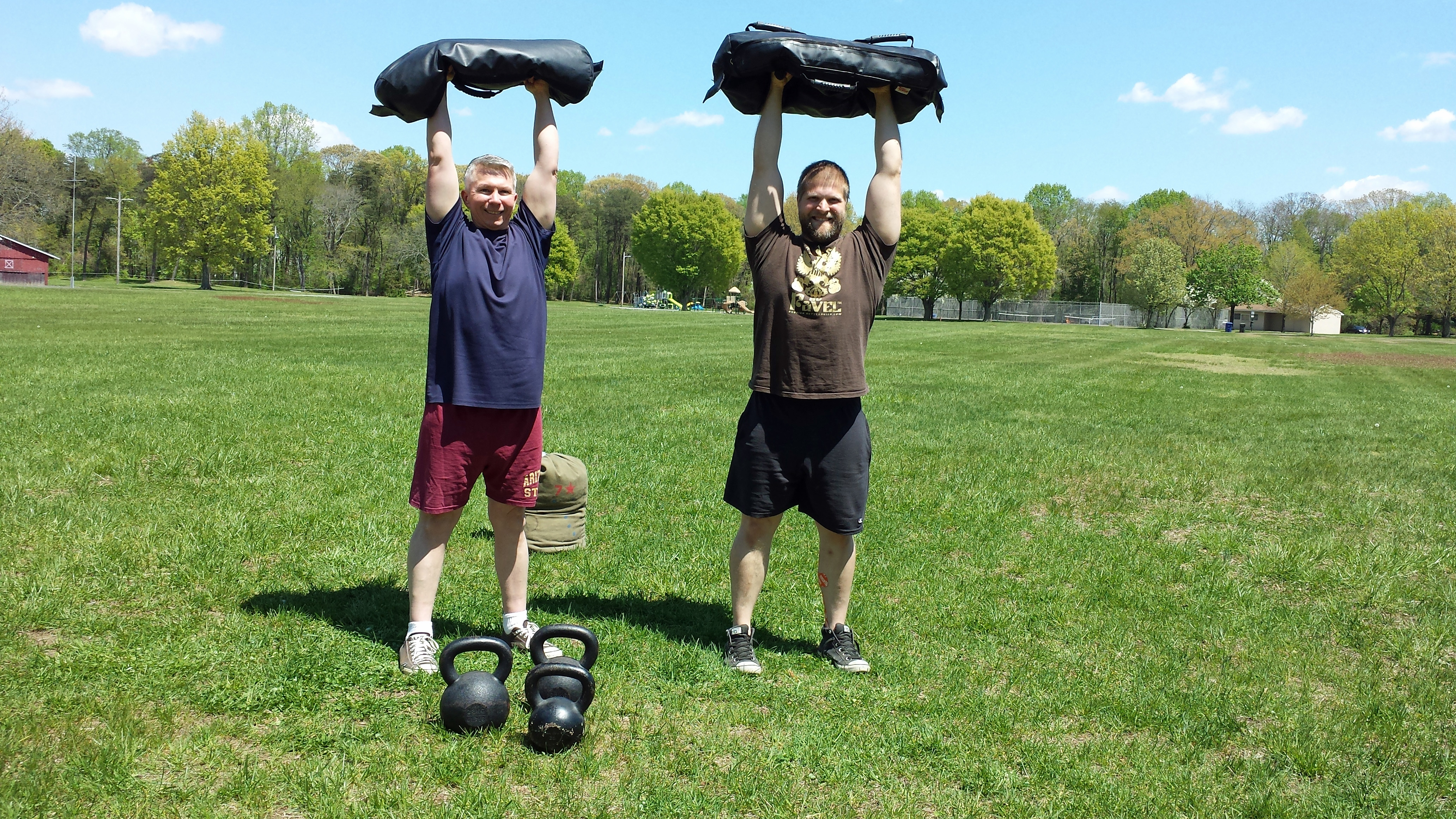 Sandbag And Kettlebell Walking Workout - Seven Stars Fitness