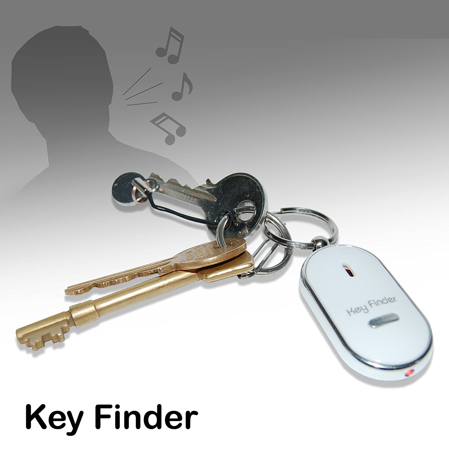 Amazon.com: Thumbs Up! Whistle Key Finder: Home & Kitchen