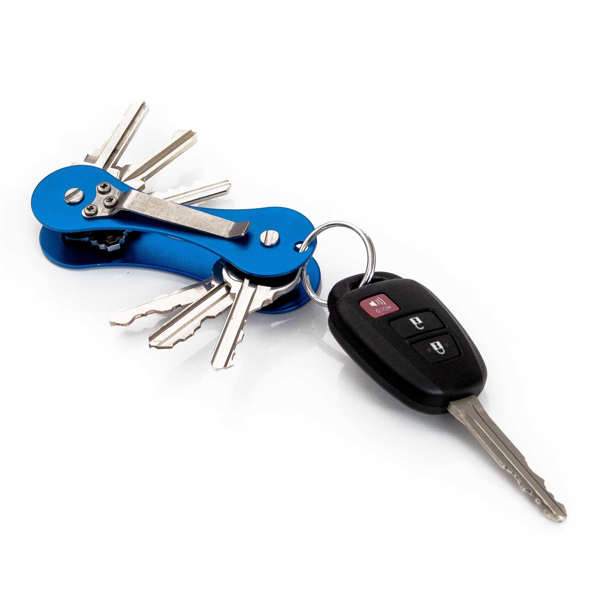 KEY-HUB Key Organizer – KEY-BAK Retractable Reels
