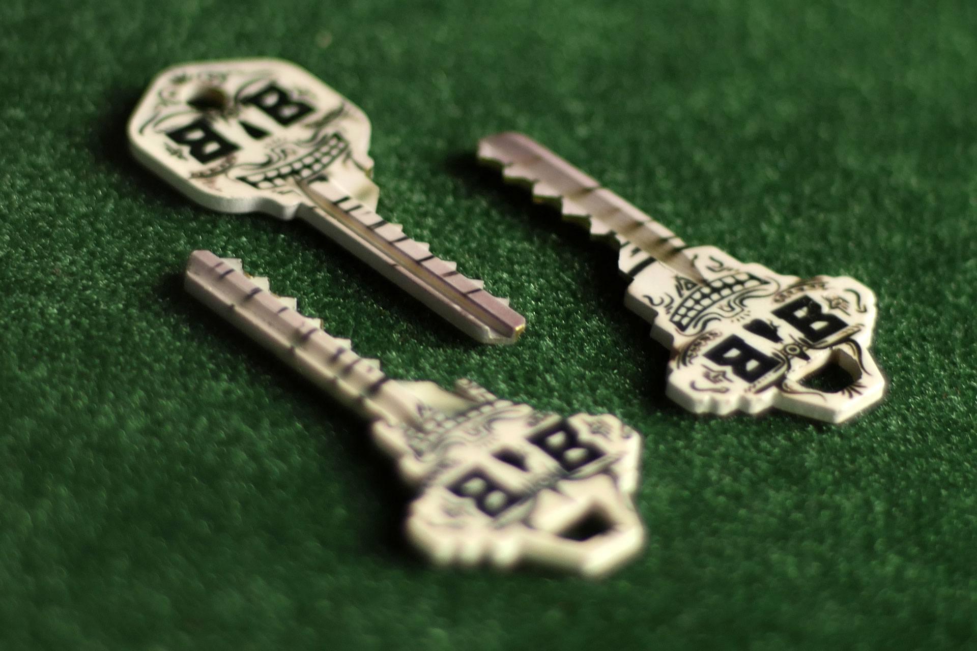 Bump Keys - Skeleton keys with exclusive design!
