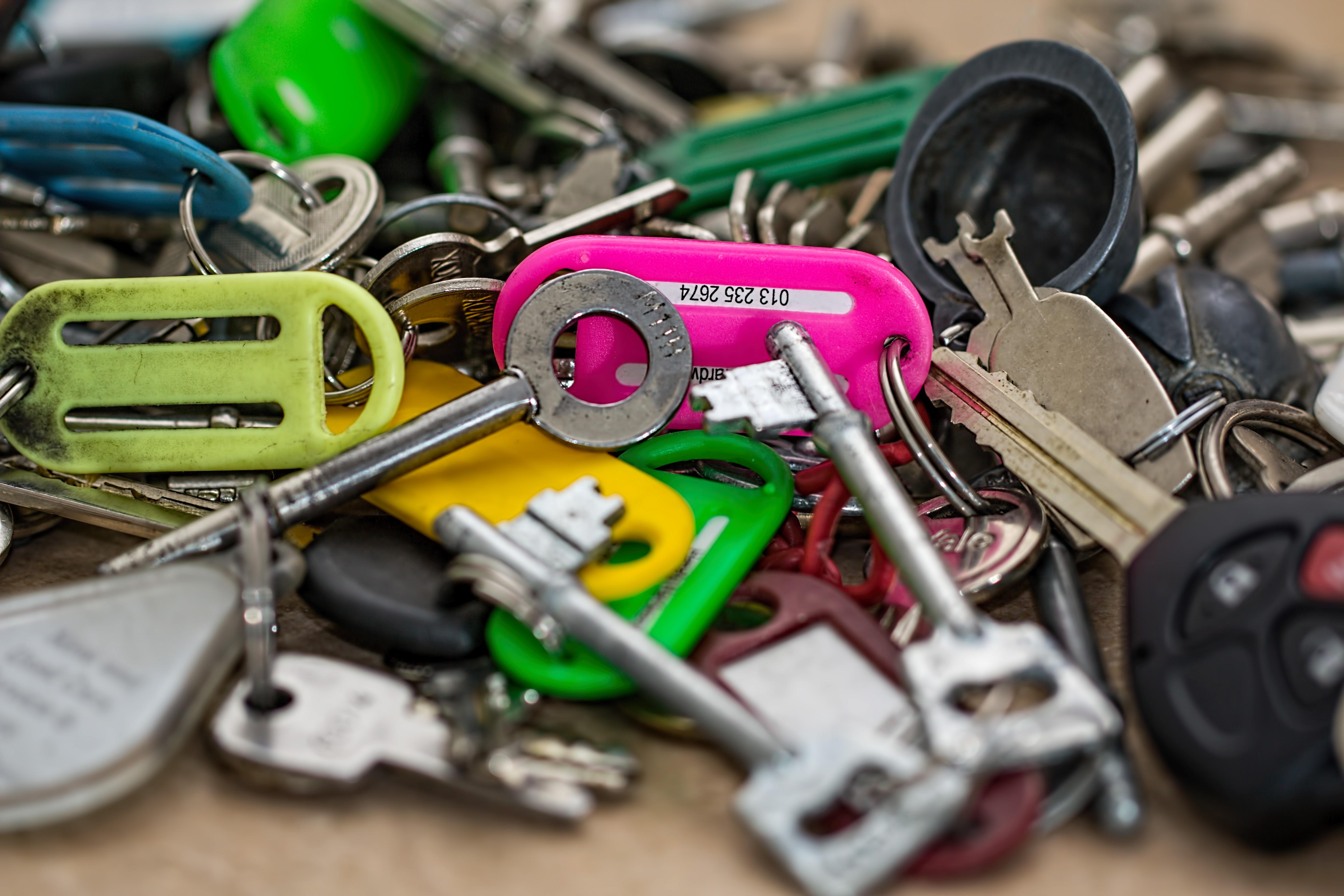 Keys, Key, Lock, Metal, Unique, HQ Photo