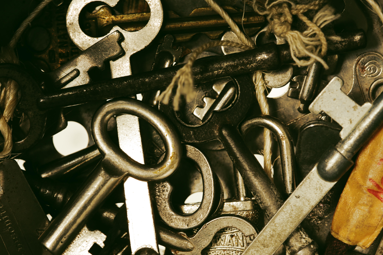 Keys mixture, Keys, Metal, Mixture, Opener, HQ Photo