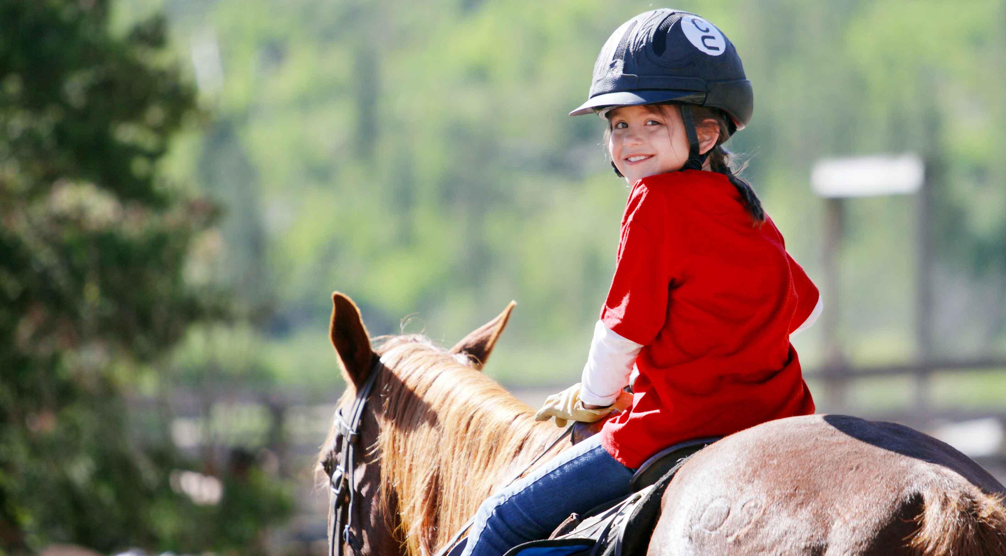 Free photo: Kid riding horse - Brown, Capgomeh, Carnival - Free Download -  Jooinn
