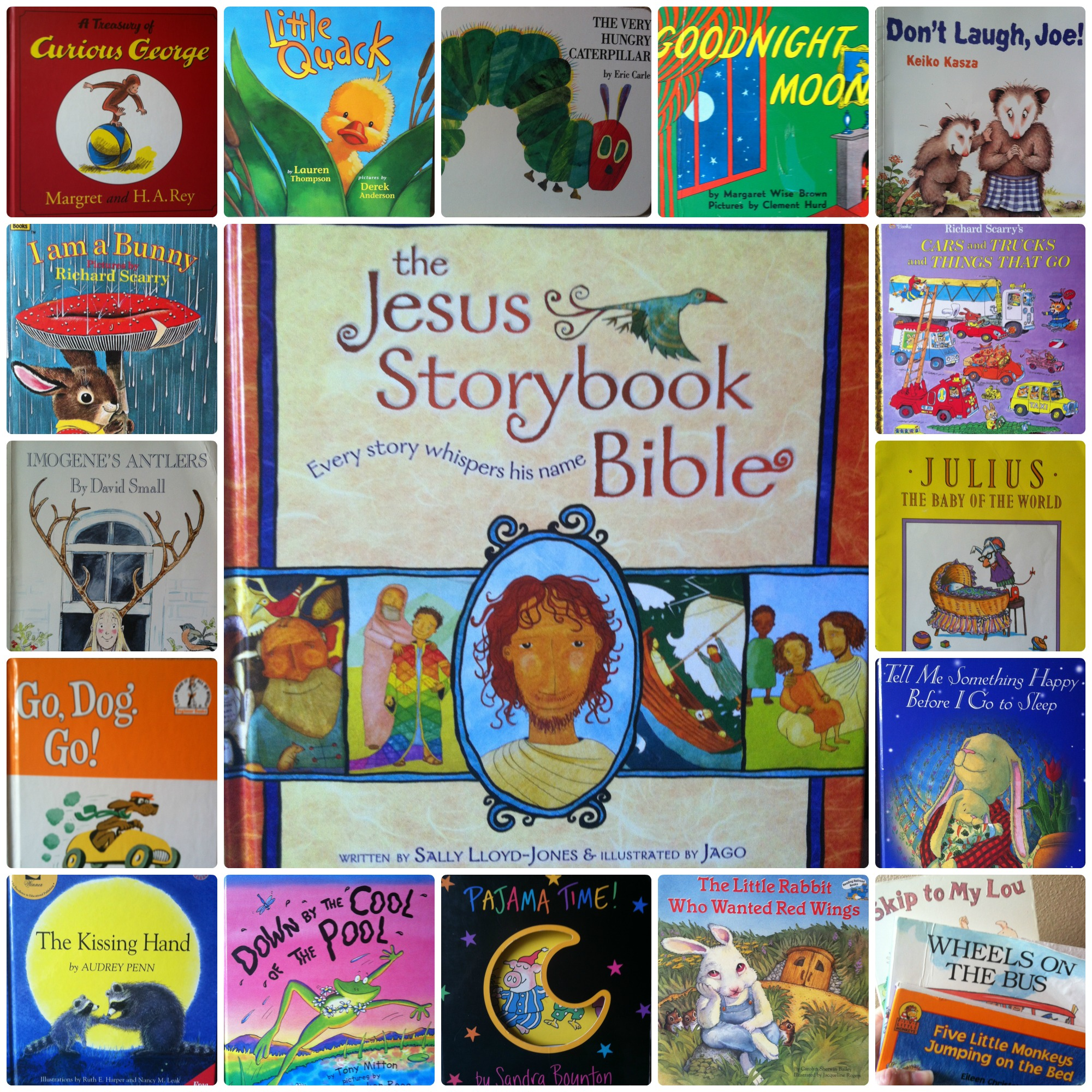 Books for Kids-Family Favorites - Amanda Jane Brown