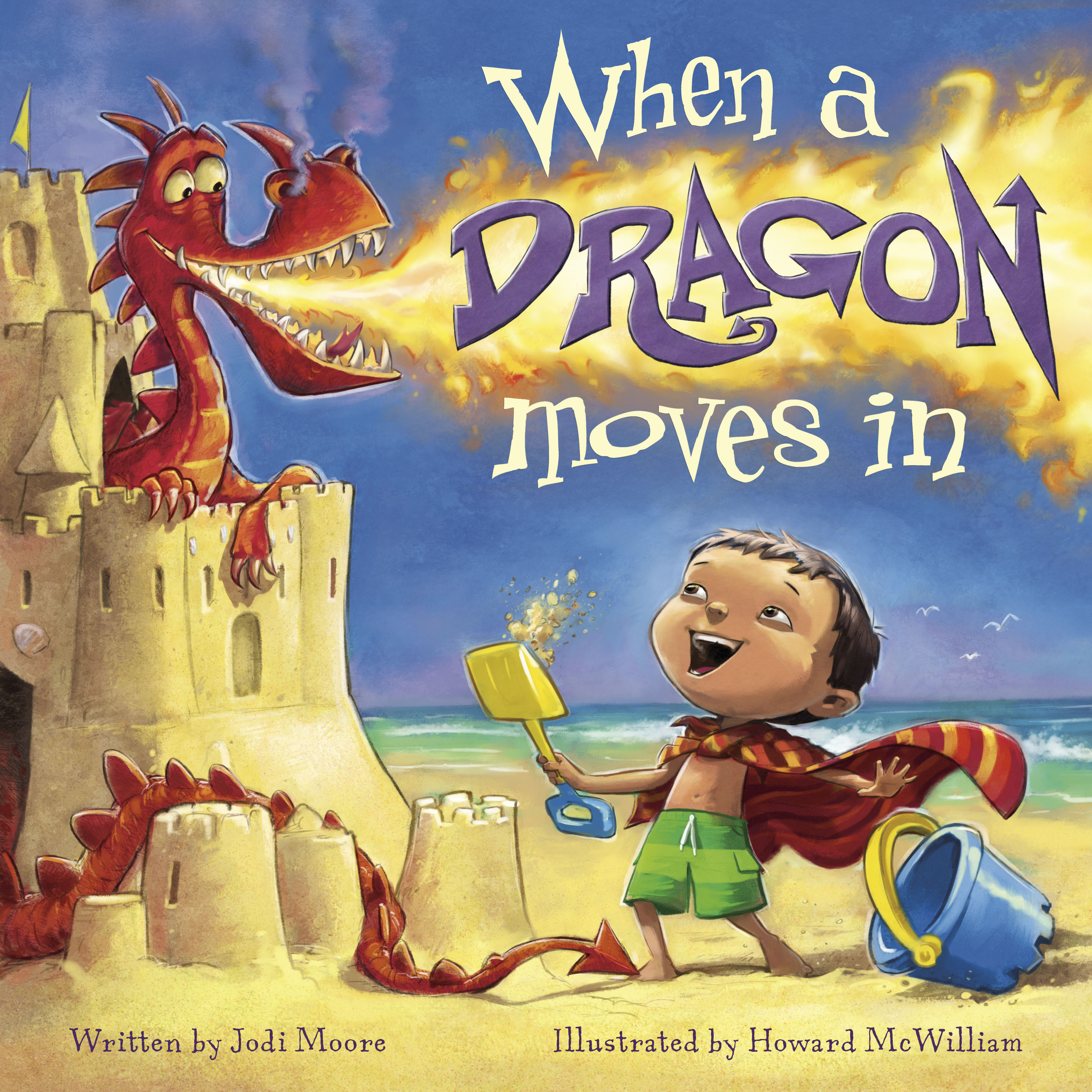 There's a Dragon in Best Kids' Books for Easy Gifting | Flashlight Press