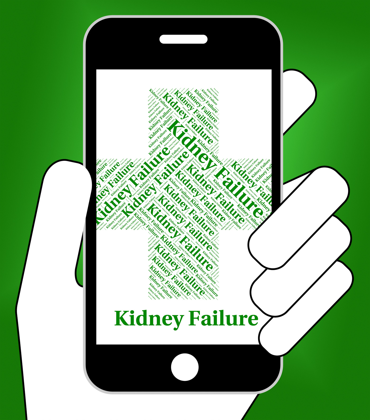 Kidney Failure Indicates Lack Of Success And Affliction, Affliction, Kidneyfailure, Indisposition, Infection, HQ Photo