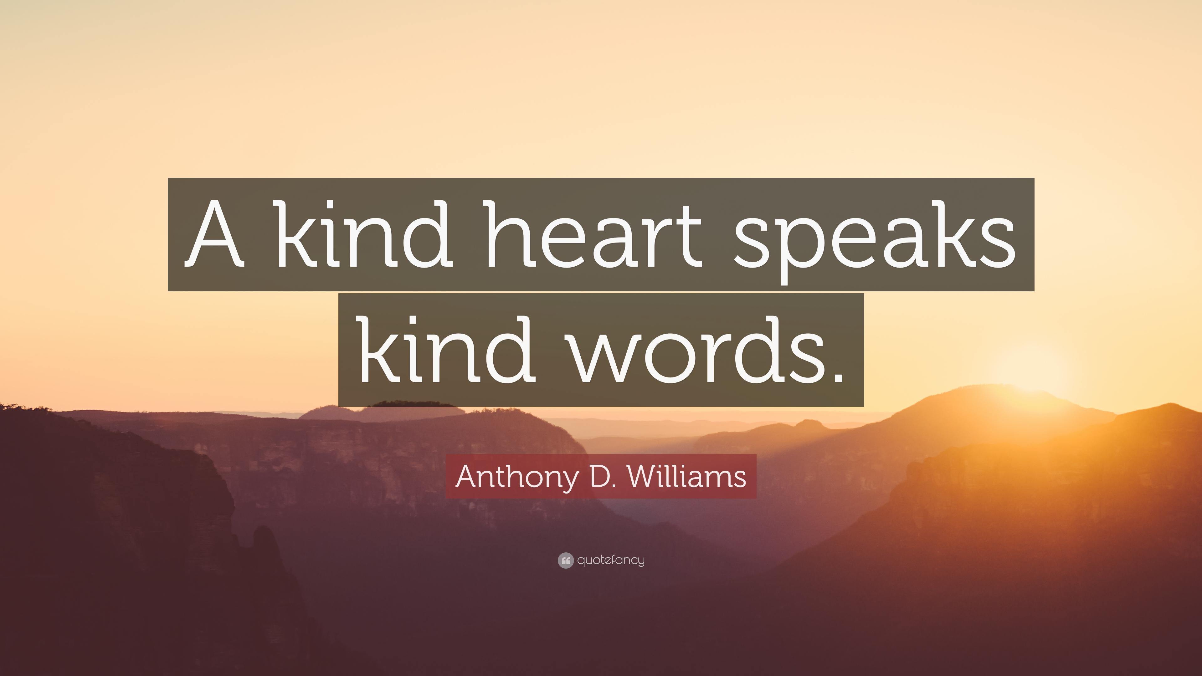 Kind words photo