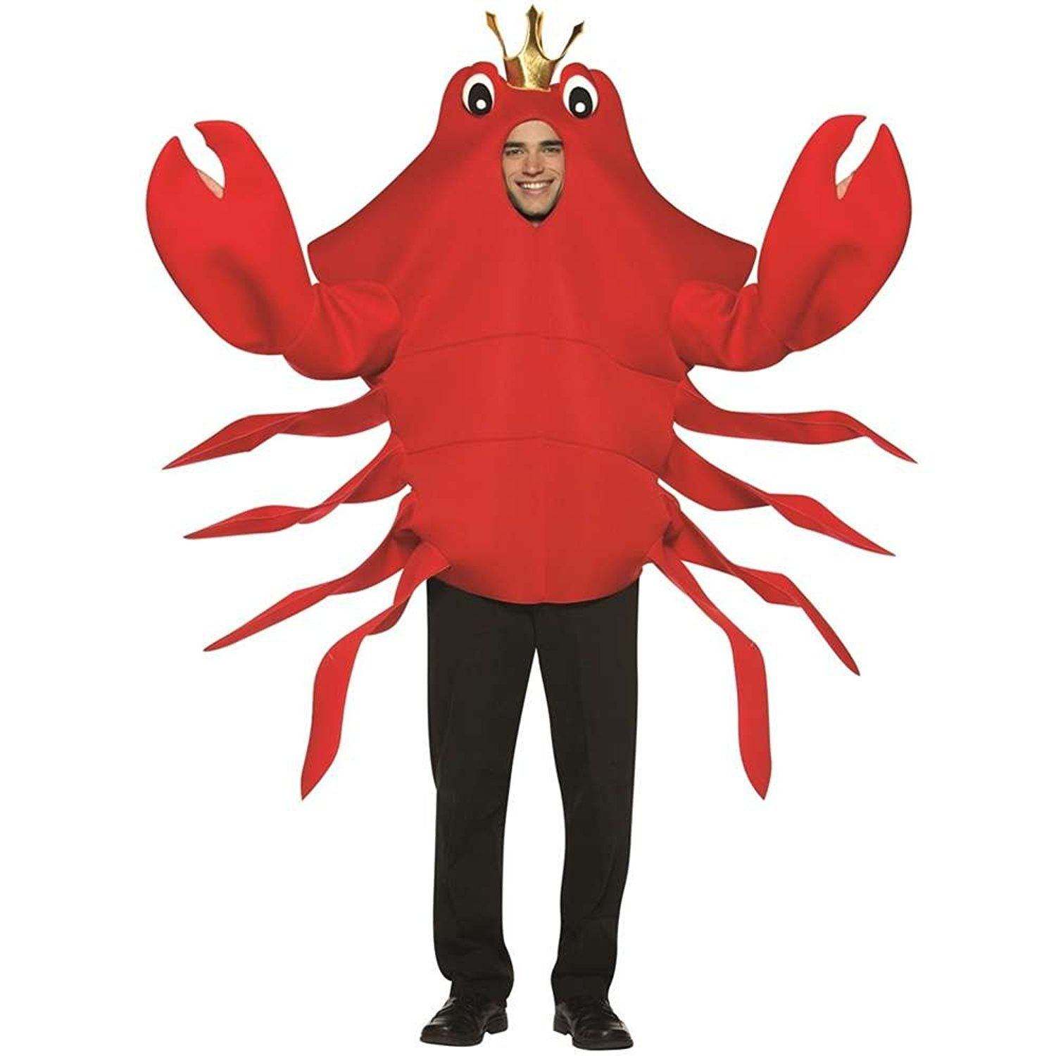 Amazon.com: Rasta Imposta King Crab, Red, One Size: Clothing