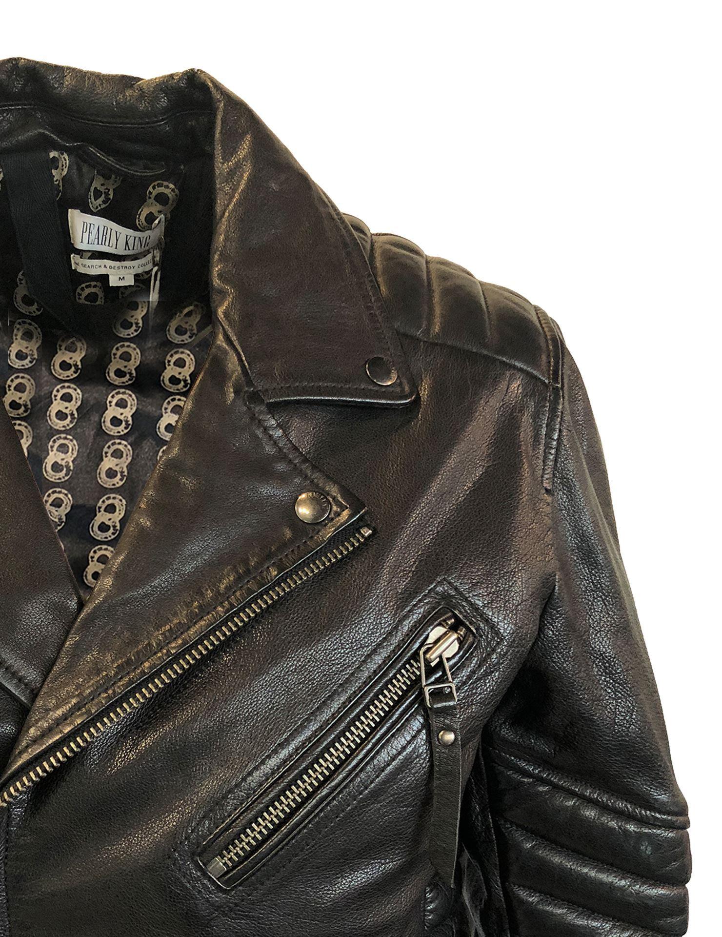 Pearly King Leather Jacket - George Harrison|Designer Menswear in ...