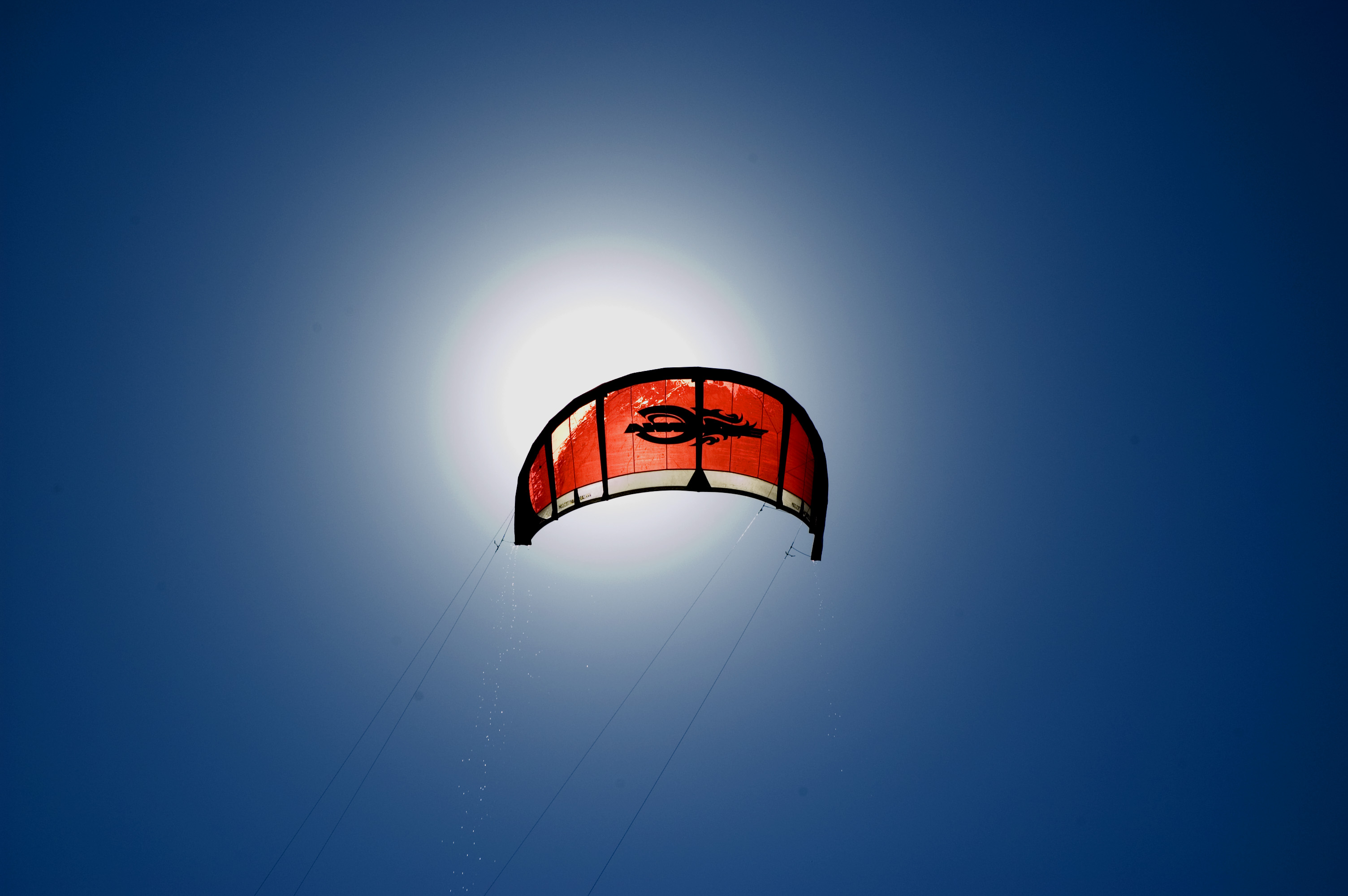 kite, Blue, Fly, Glide, Parasail, HQ Photo
