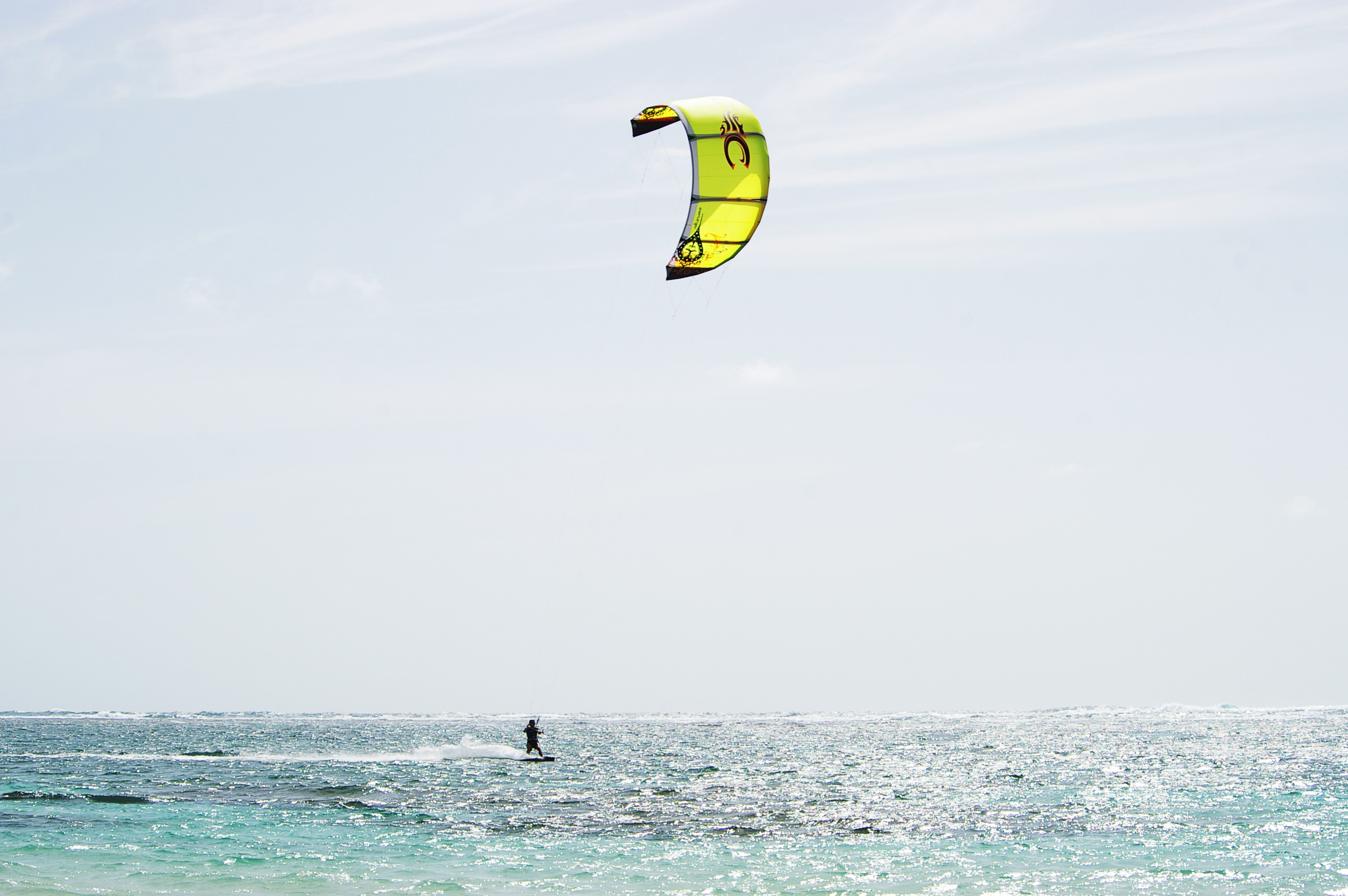 Kite boarding, Activity, Solo, Water, Vent, HQ Photo