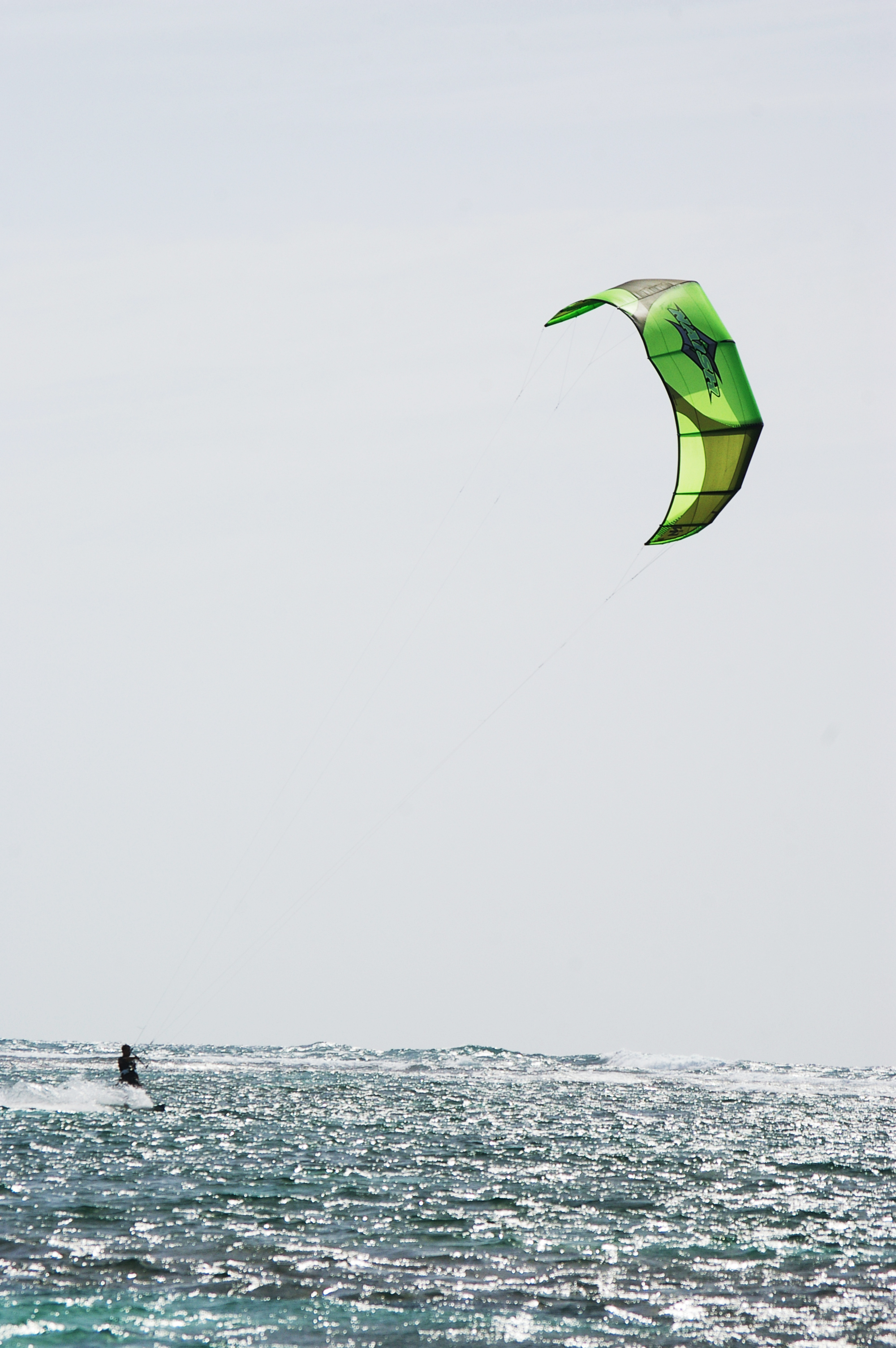 Kite surfing, Aqua, Attraction, Extreme, Fast, HQ Photo