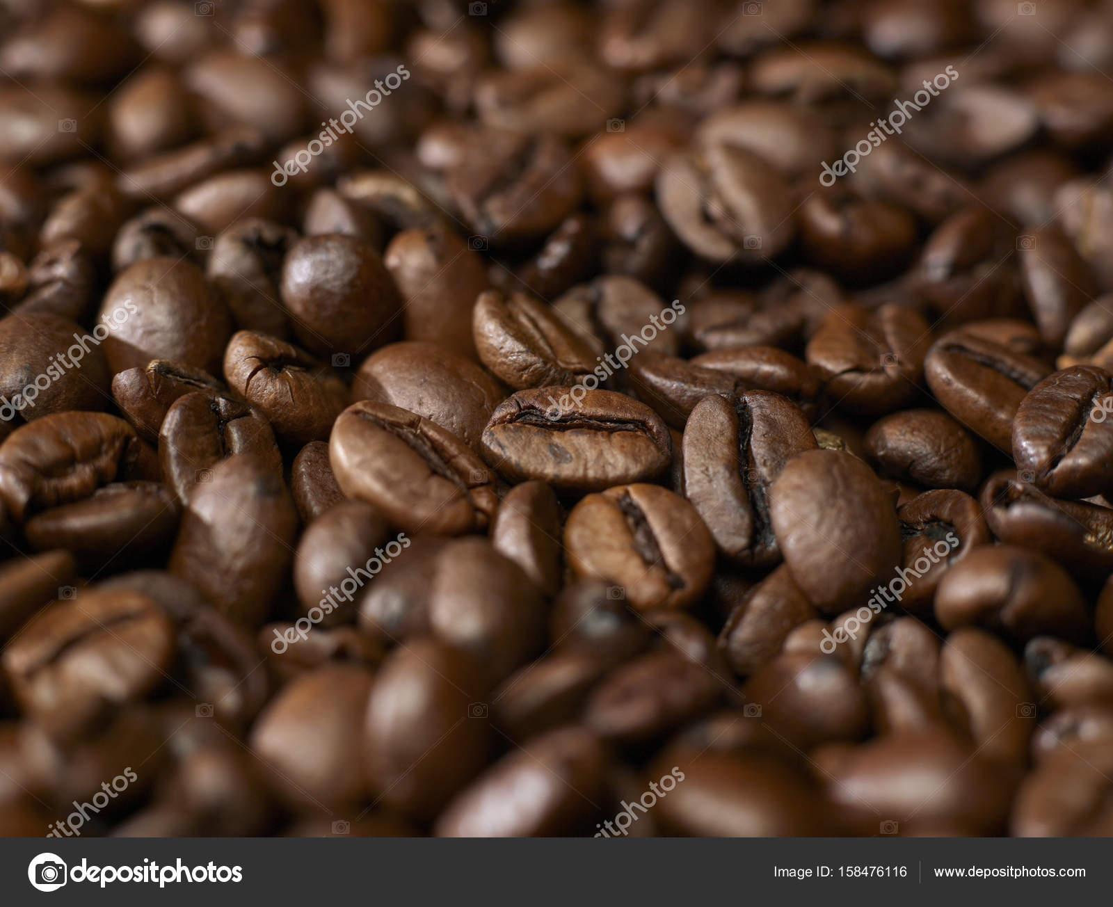 Coffee beans closeup — Stock Photo © Goir #158476116