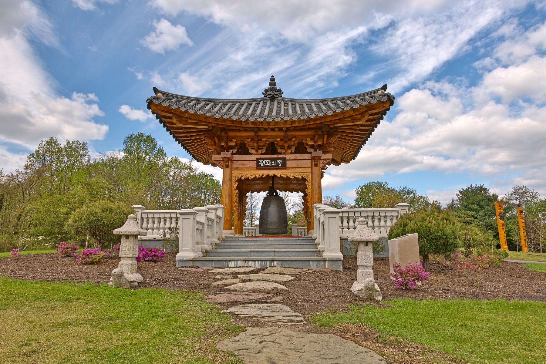 Korean bell garden - hdr photo