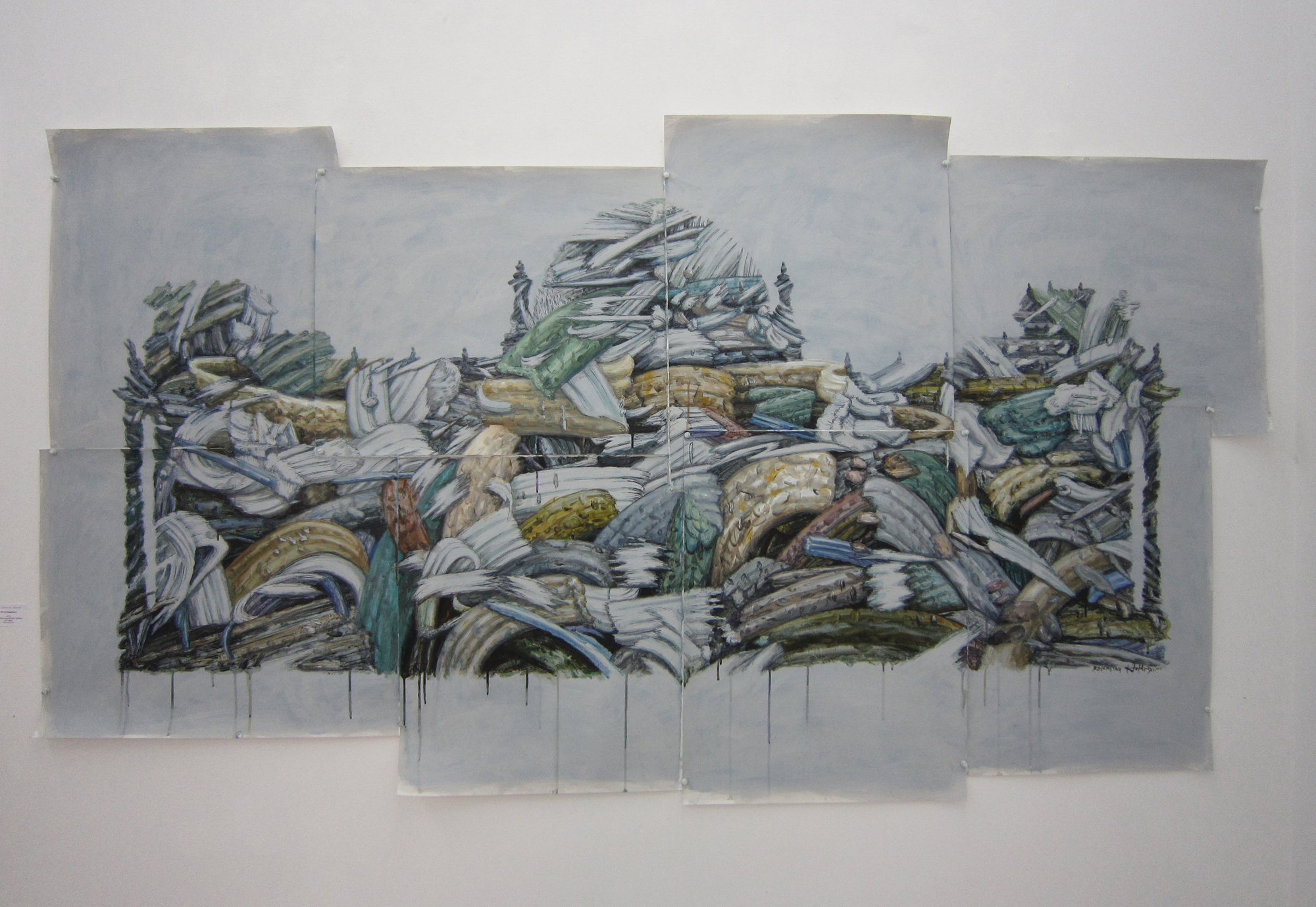 Korean painters tools photo