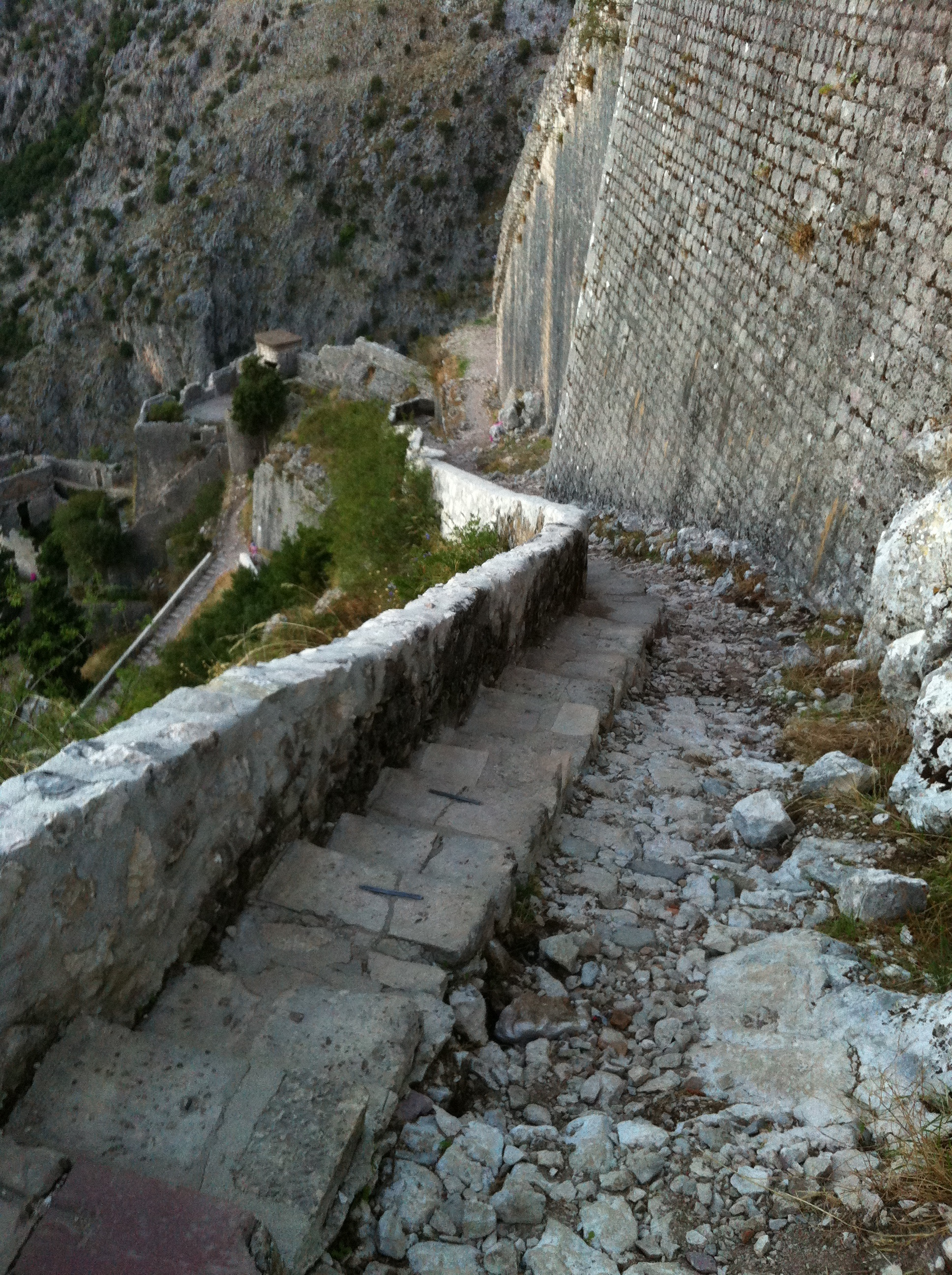 Walking Along the Fortress Walls of Kotor | Adrift Anywhere