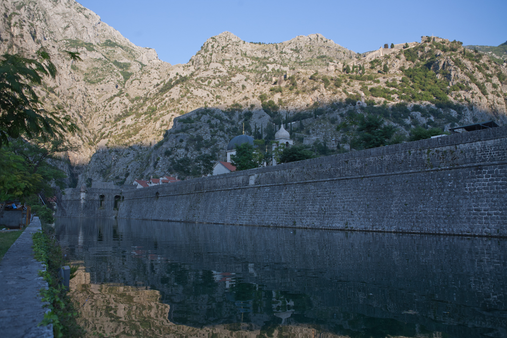 Kotor wall, Rock, Scene, Sea, Place, HQ Photo