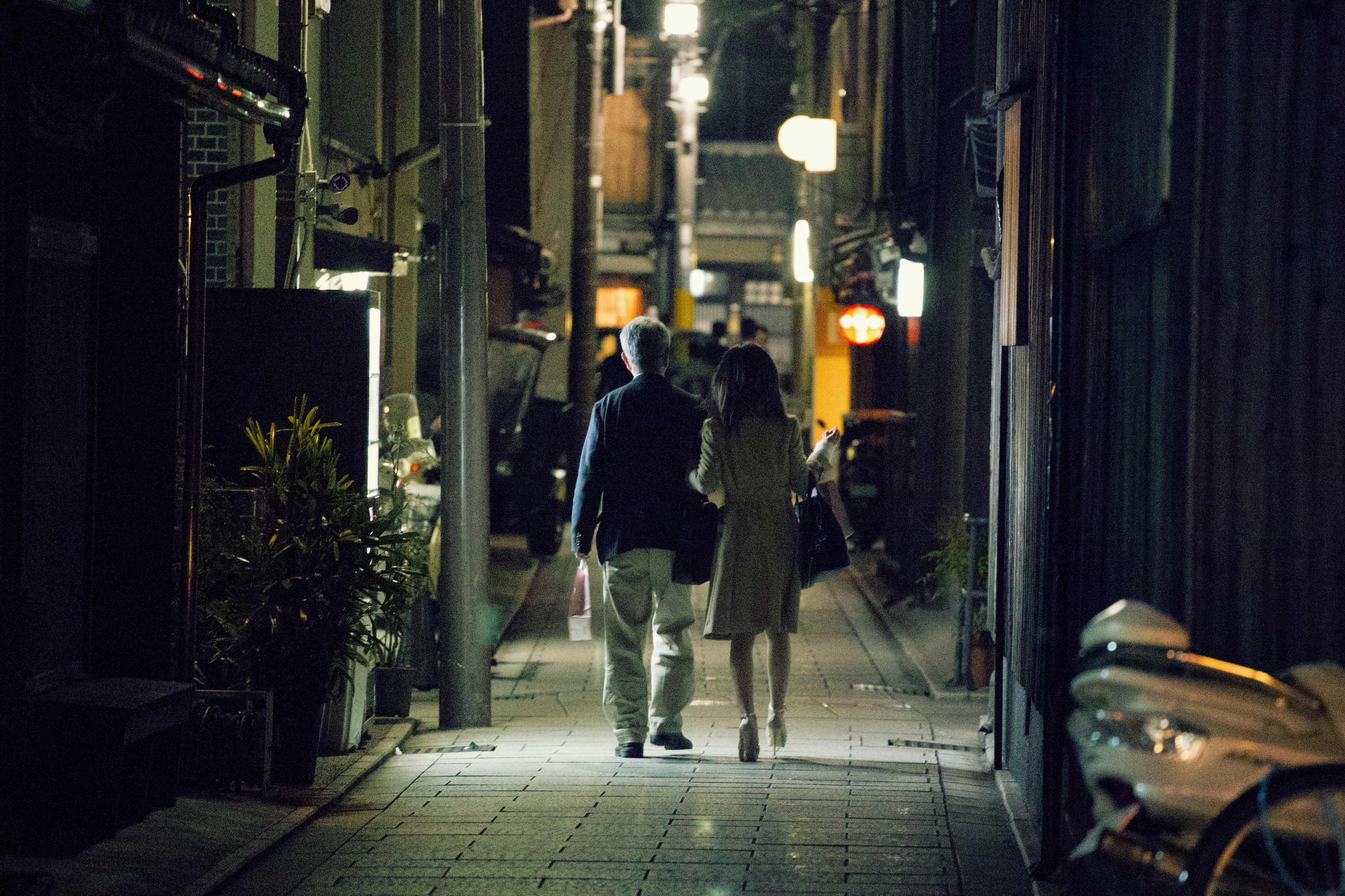 Kyoto date night photo