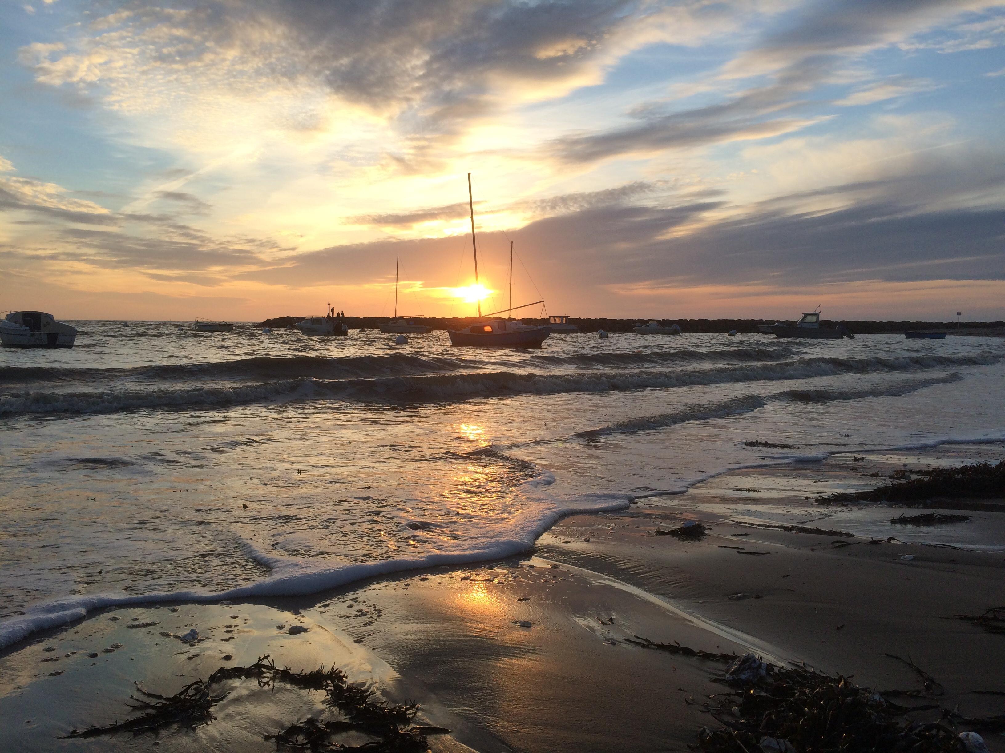 La bernerie en retz - loire atlantique - france photo