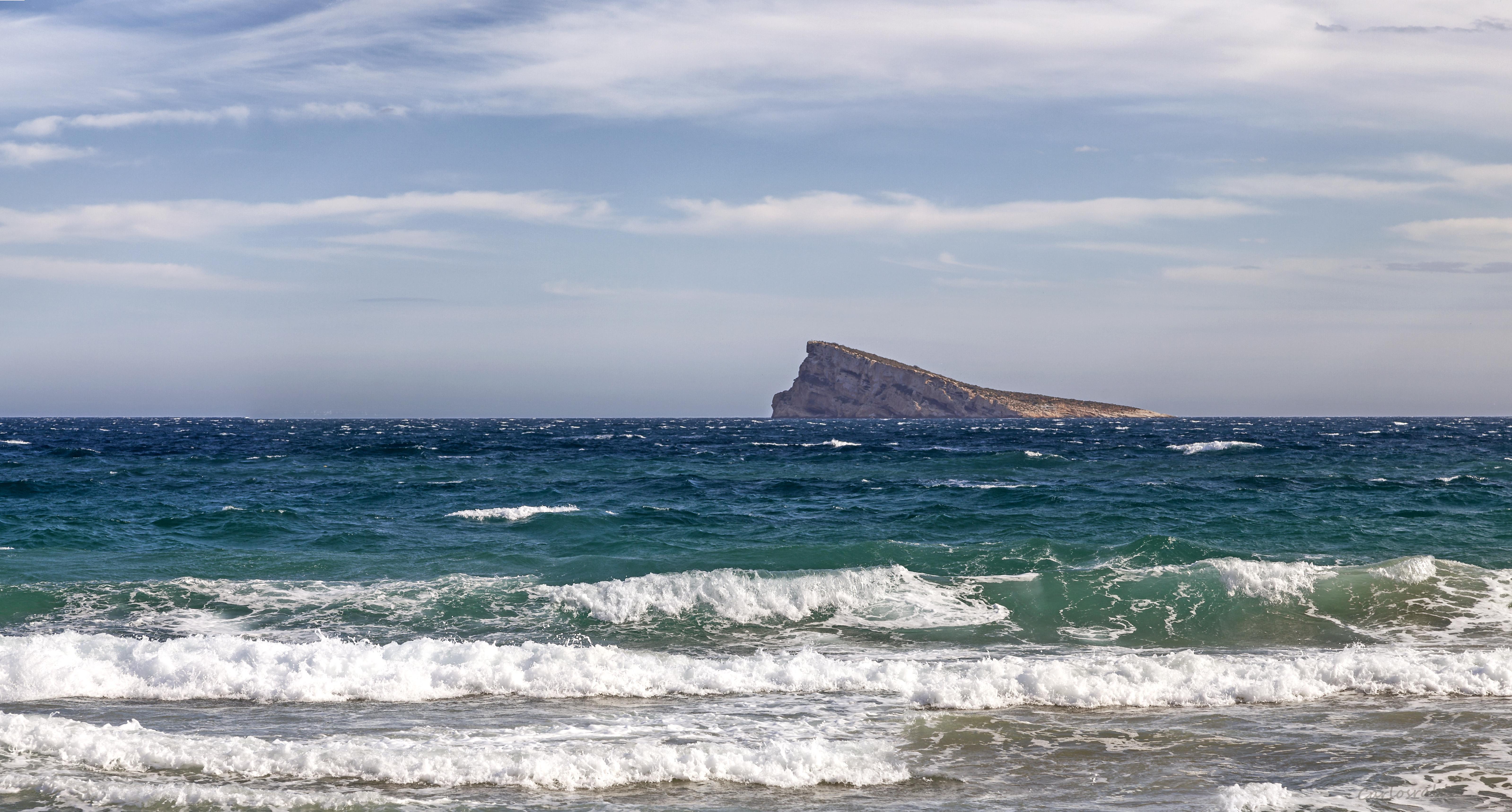 La isla de benidorm photo