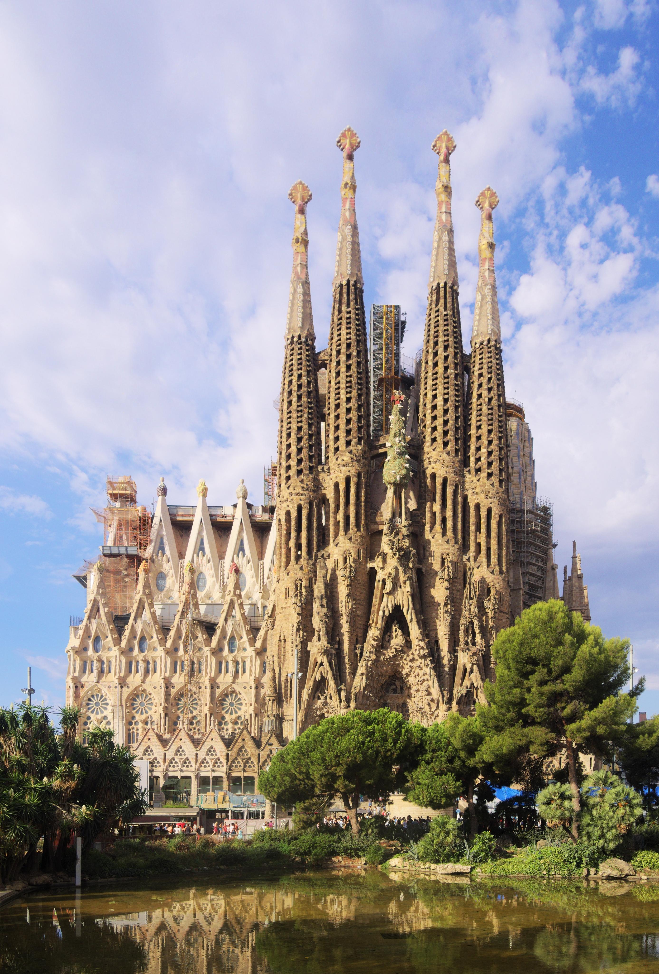Sagrada Familia: Free Photo: La Sagrada Familia