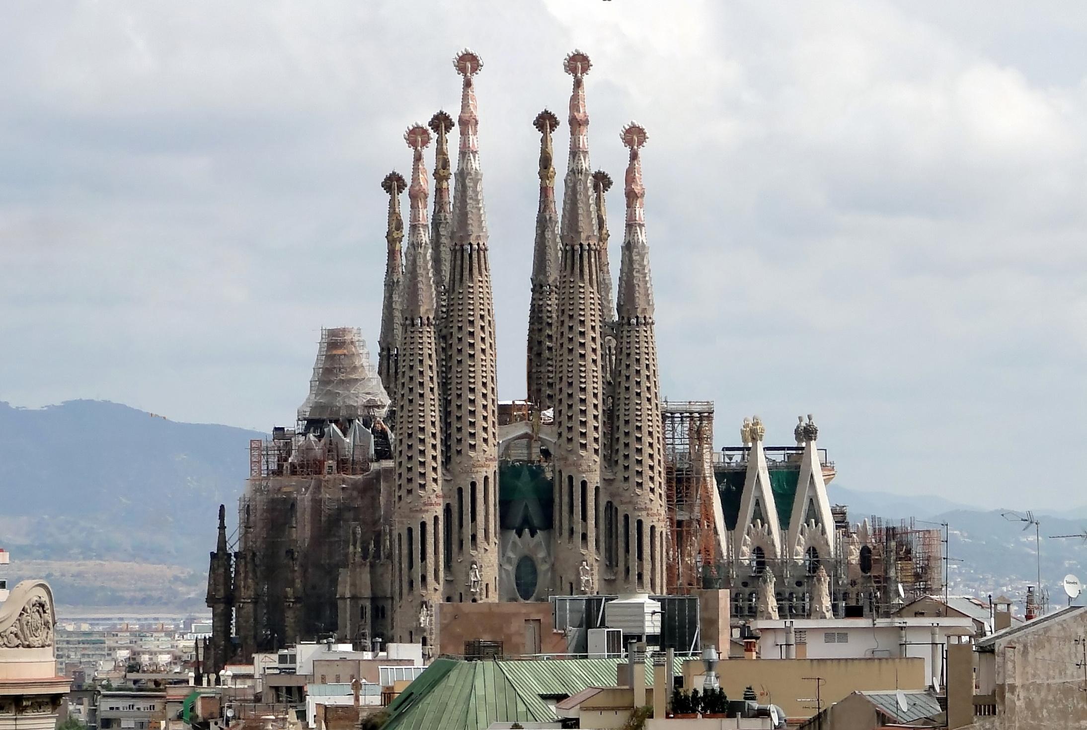 The church of La Sagrada Família (Barcelona, Spain) | Museums ...