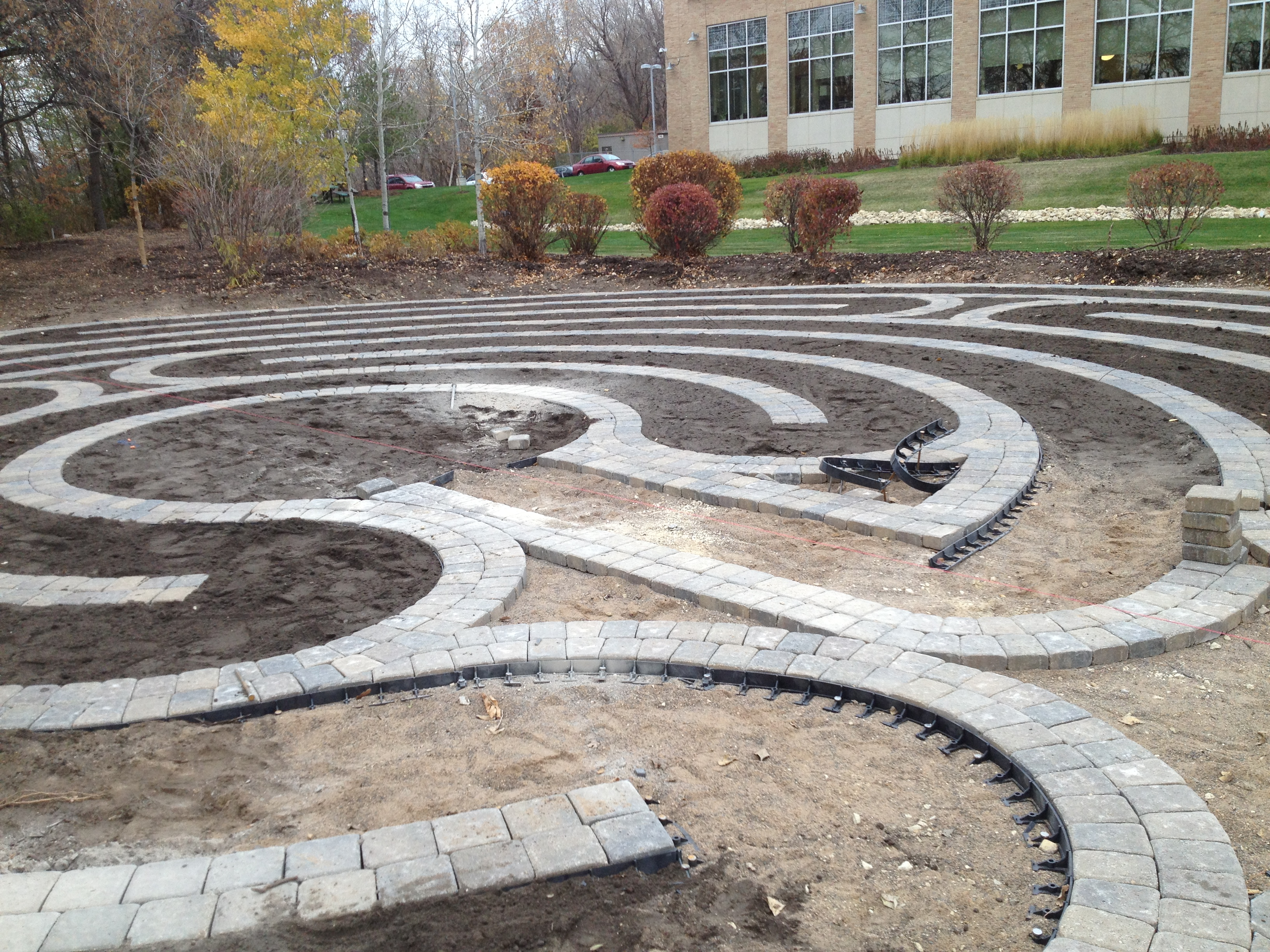 Labyrinth--eighth day of work photo