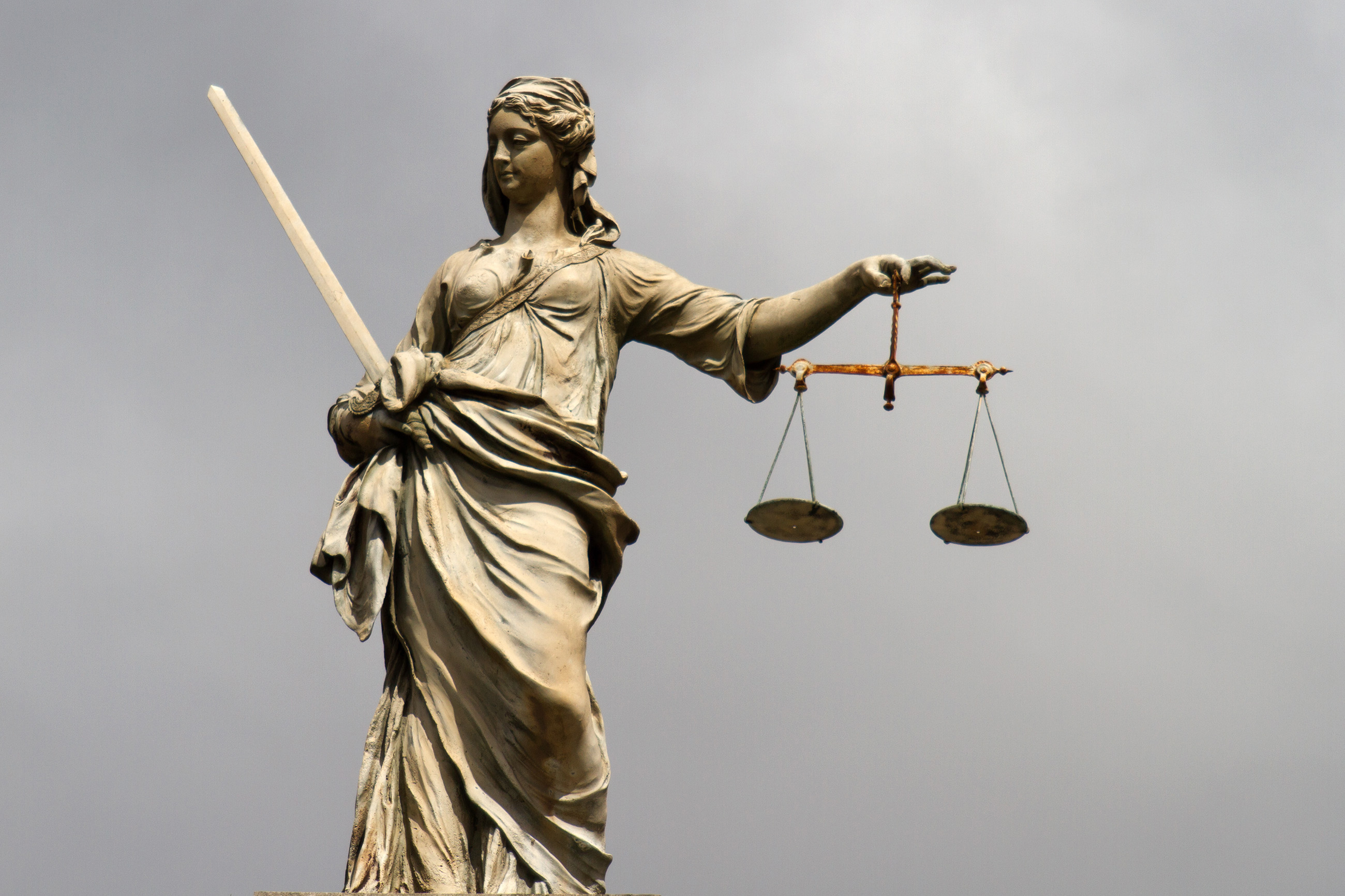 Lady justice at dublin castle photo