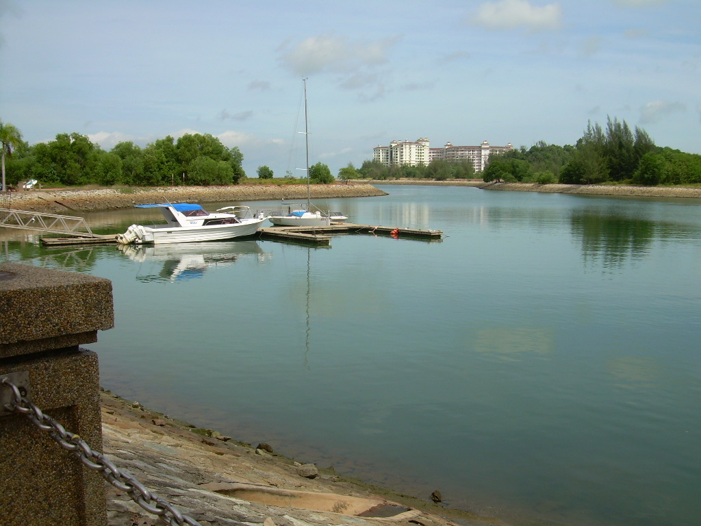 Lagoon, Boat, Dock, Harbor, Town, HQ Photo