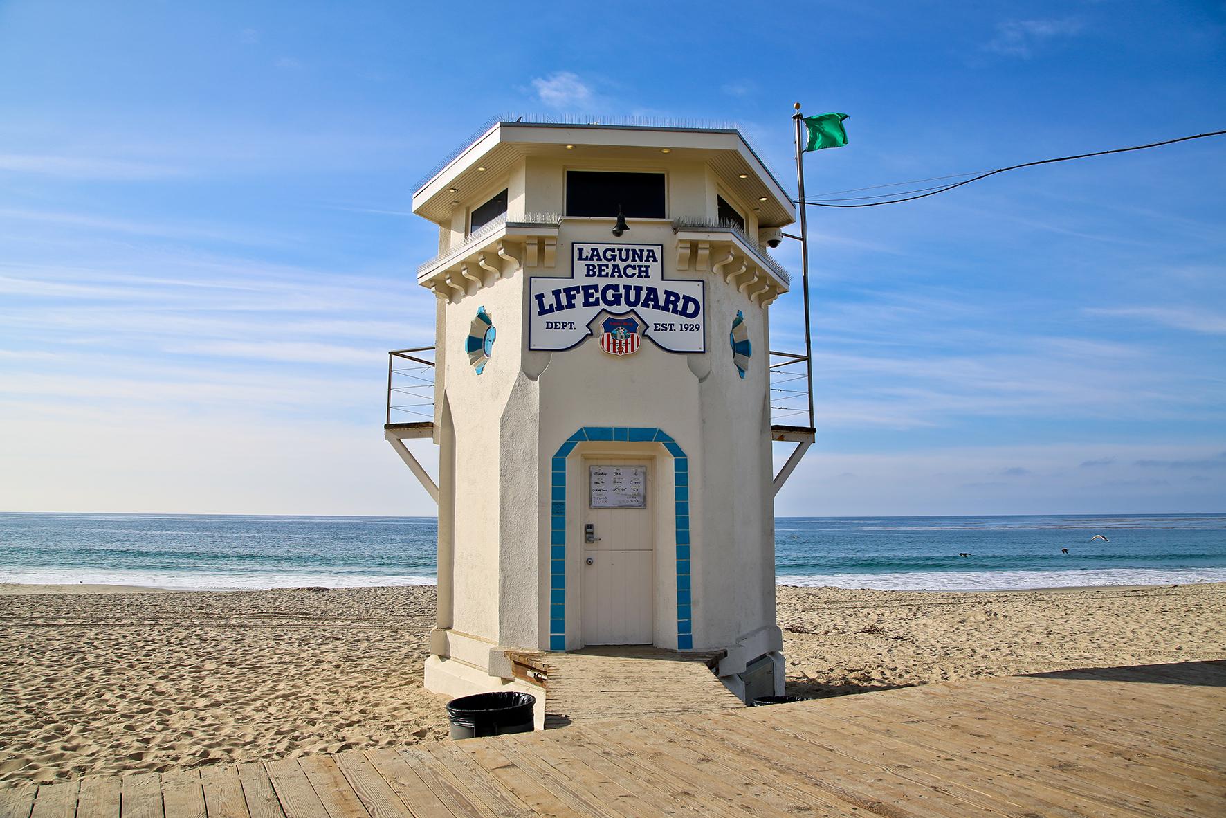 Lifeguard Tower - Laguna Beach Indy Directory