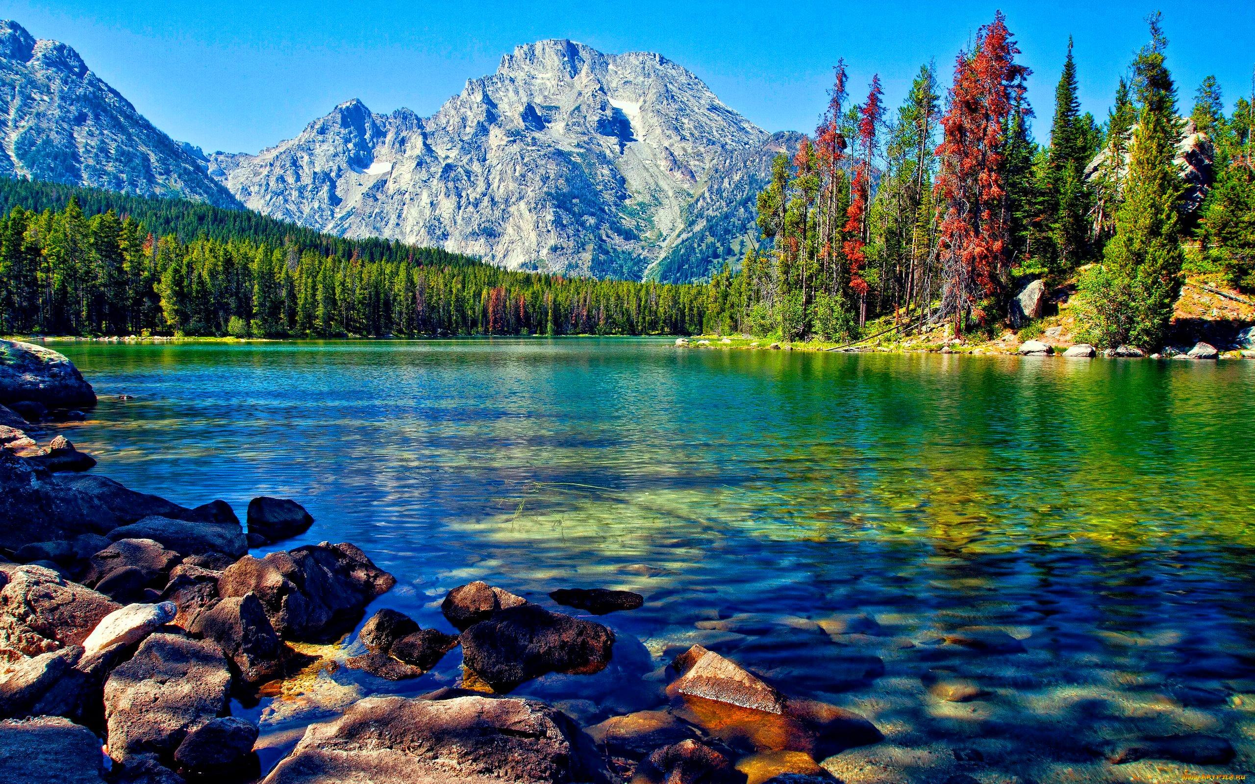 Beautiful inspiring photo of lake