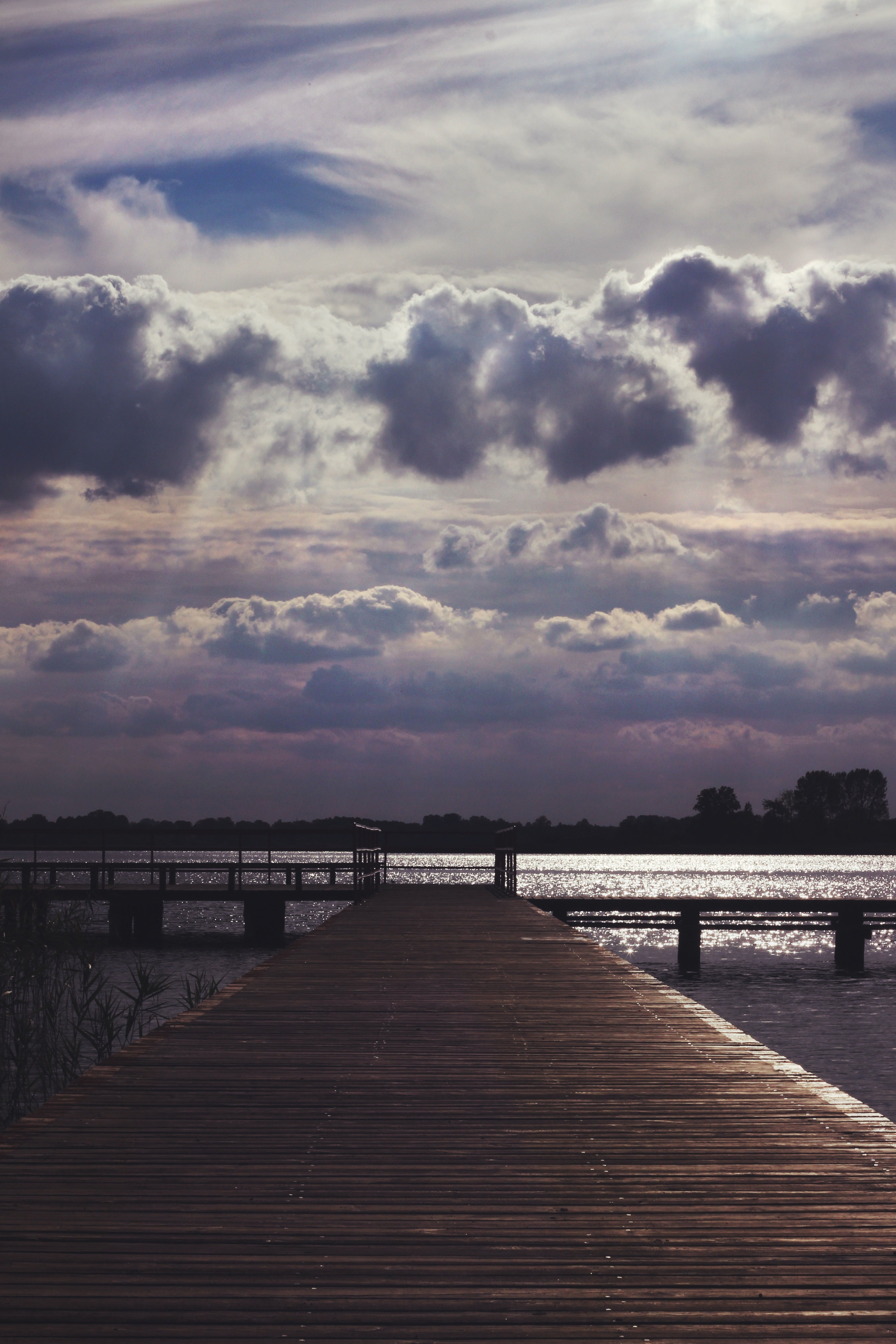 Lake & sky, Beach, Wood planks, Water, Travel, HQ Photo