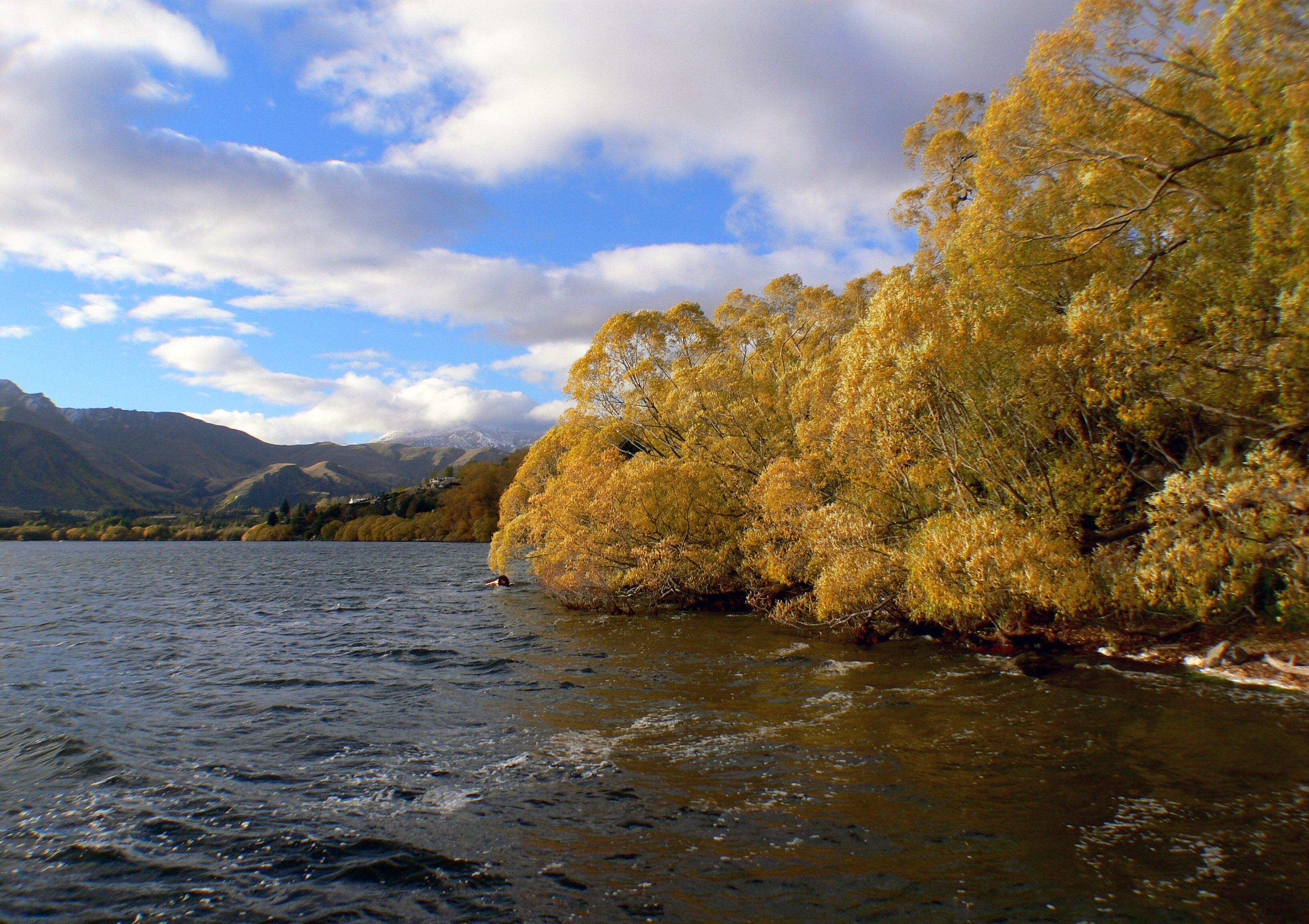 Lake Hayes Otago NZ (5), Autumn, Otago, South island Scenery Lake, Serene, HQ Photo