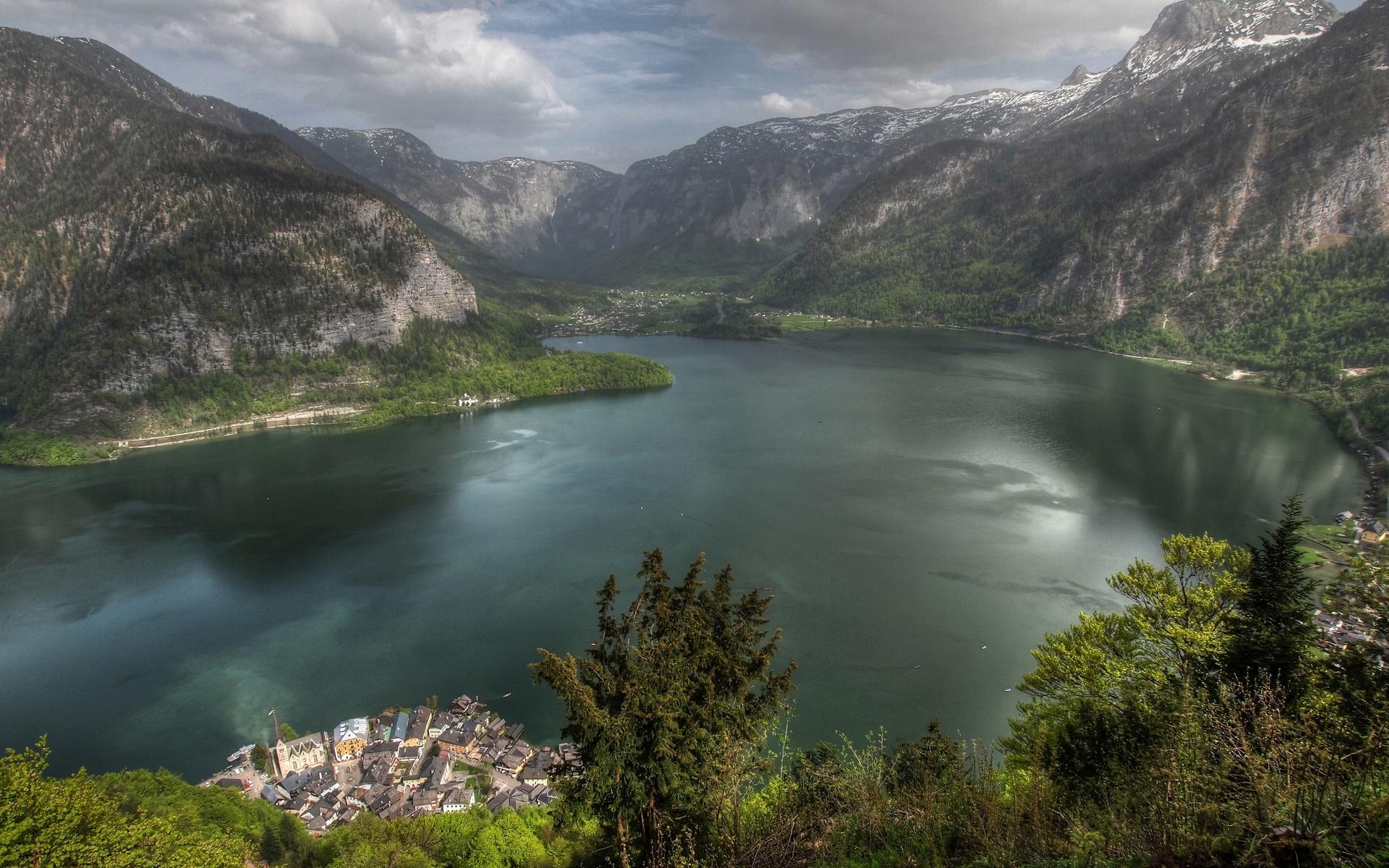 Lake valley / 1920 x 1200 / Mountains / Photography   MIRIADNA.COM