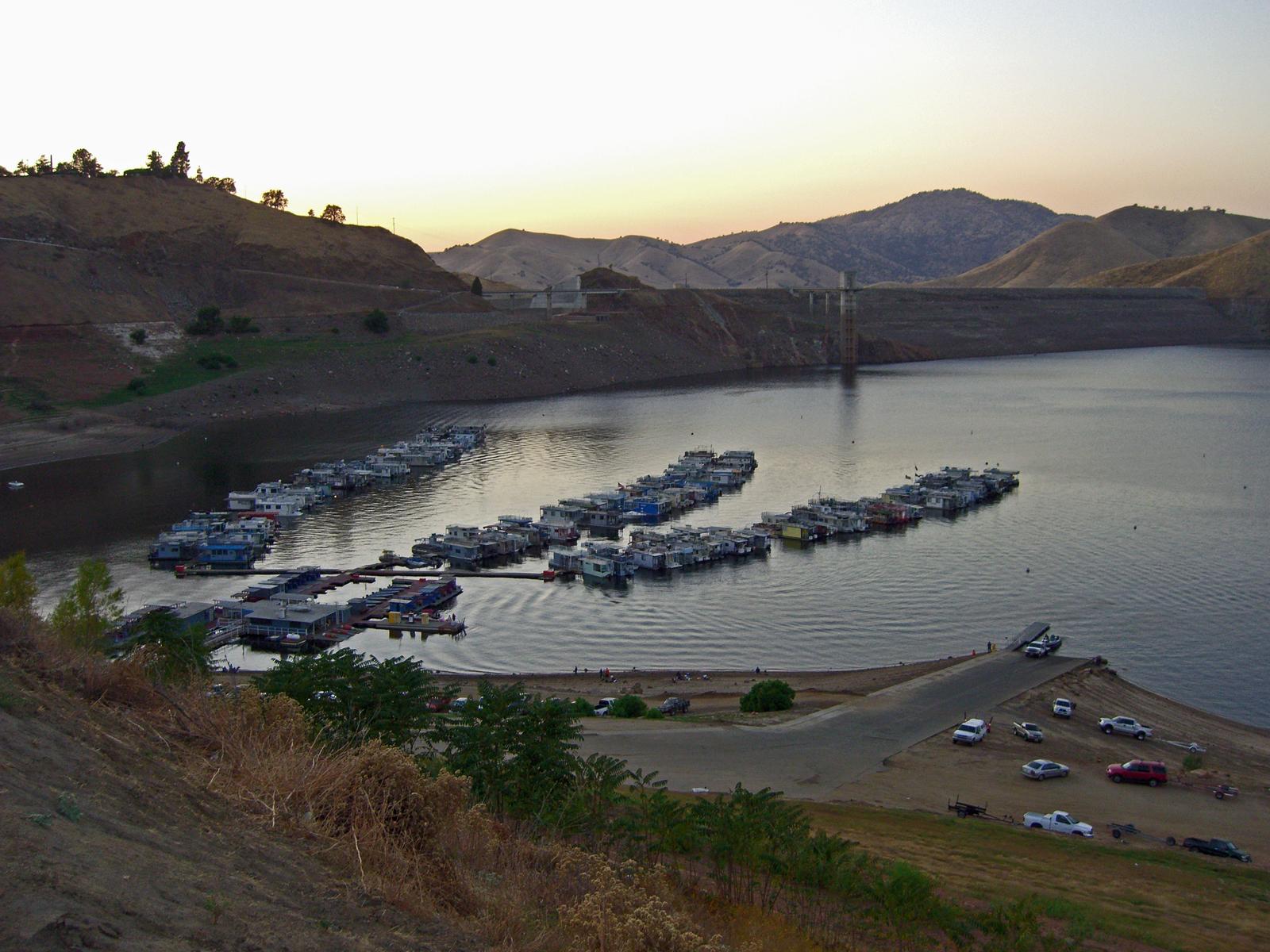 Lake Kaweah at Dusk, Boats, Bspo06, Cars, Dusk, HQ Photo