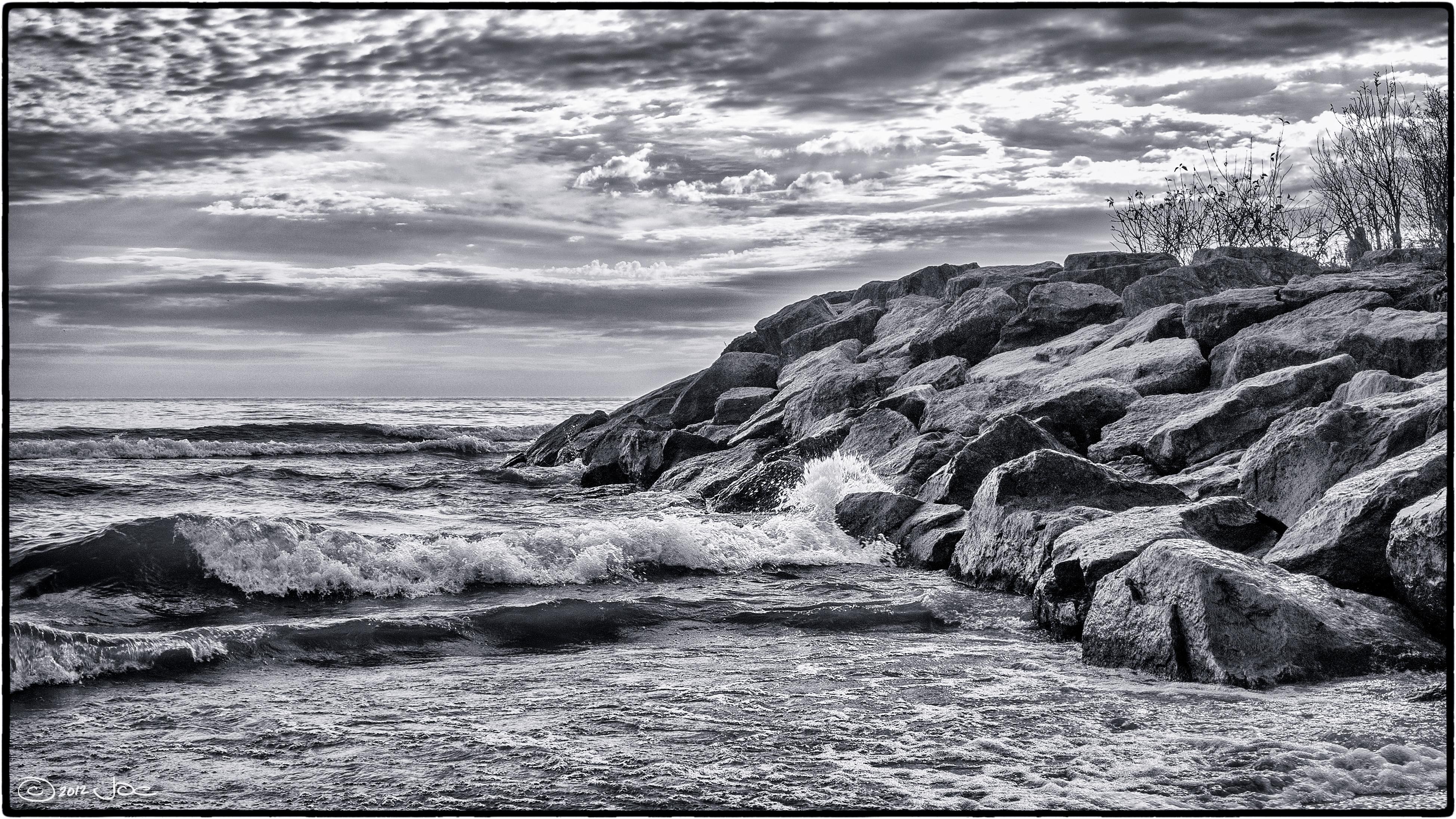 Lake ontario shoreline photo