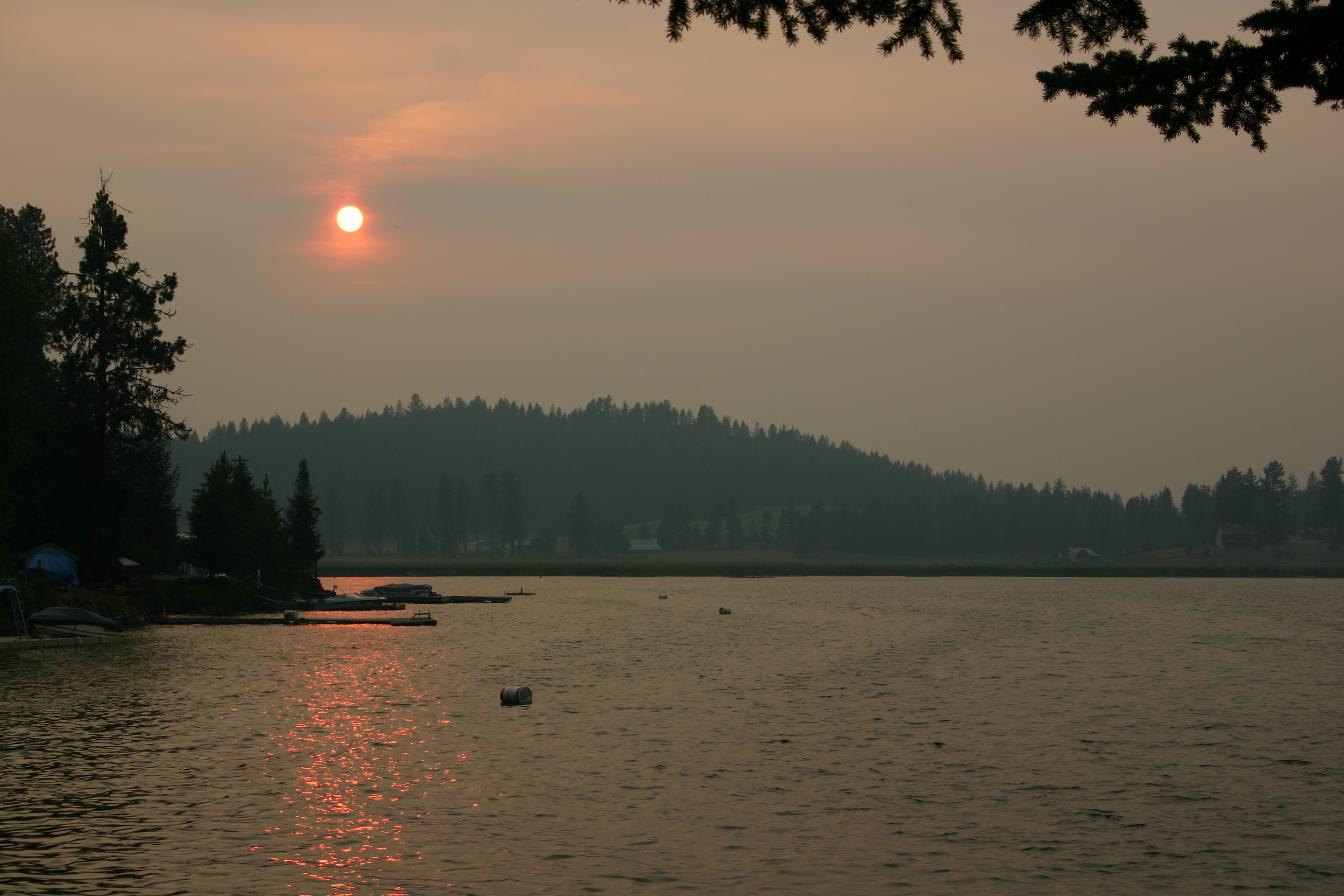 Lake side photo