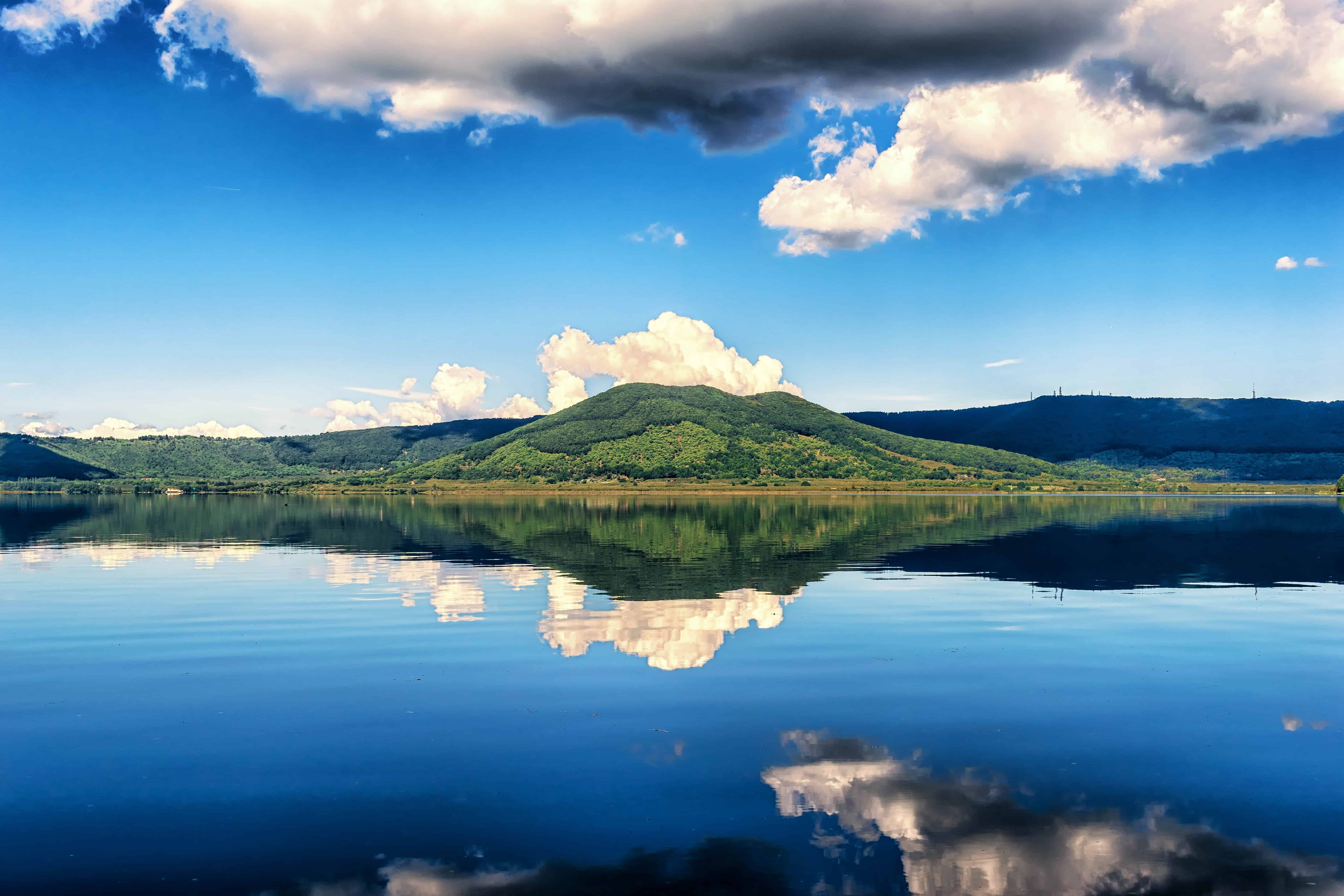 Free picture: reflection, water, landscape, nature, blue sky, lake ...