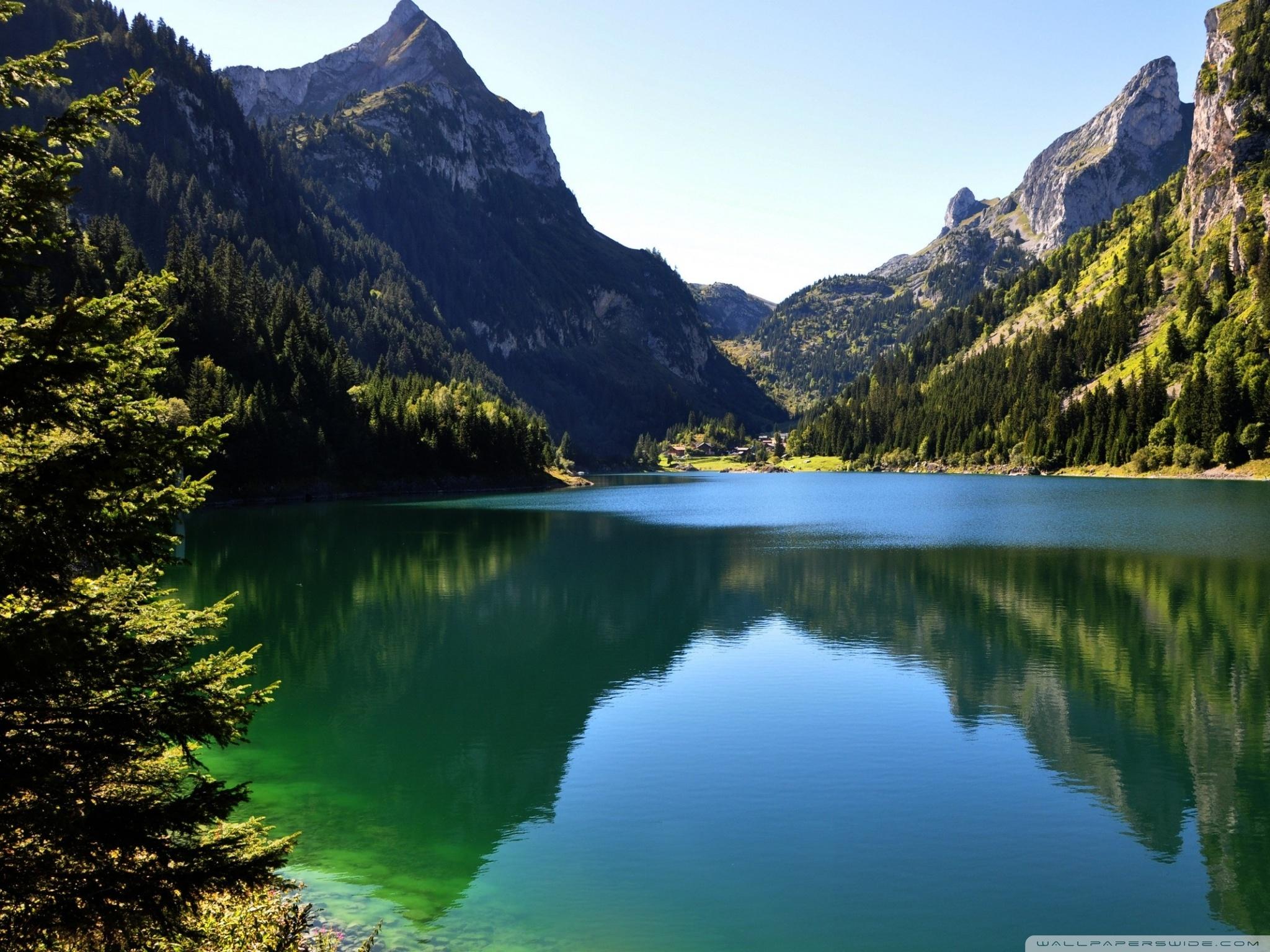 free photo lakeside scenic salzkammergut town free download