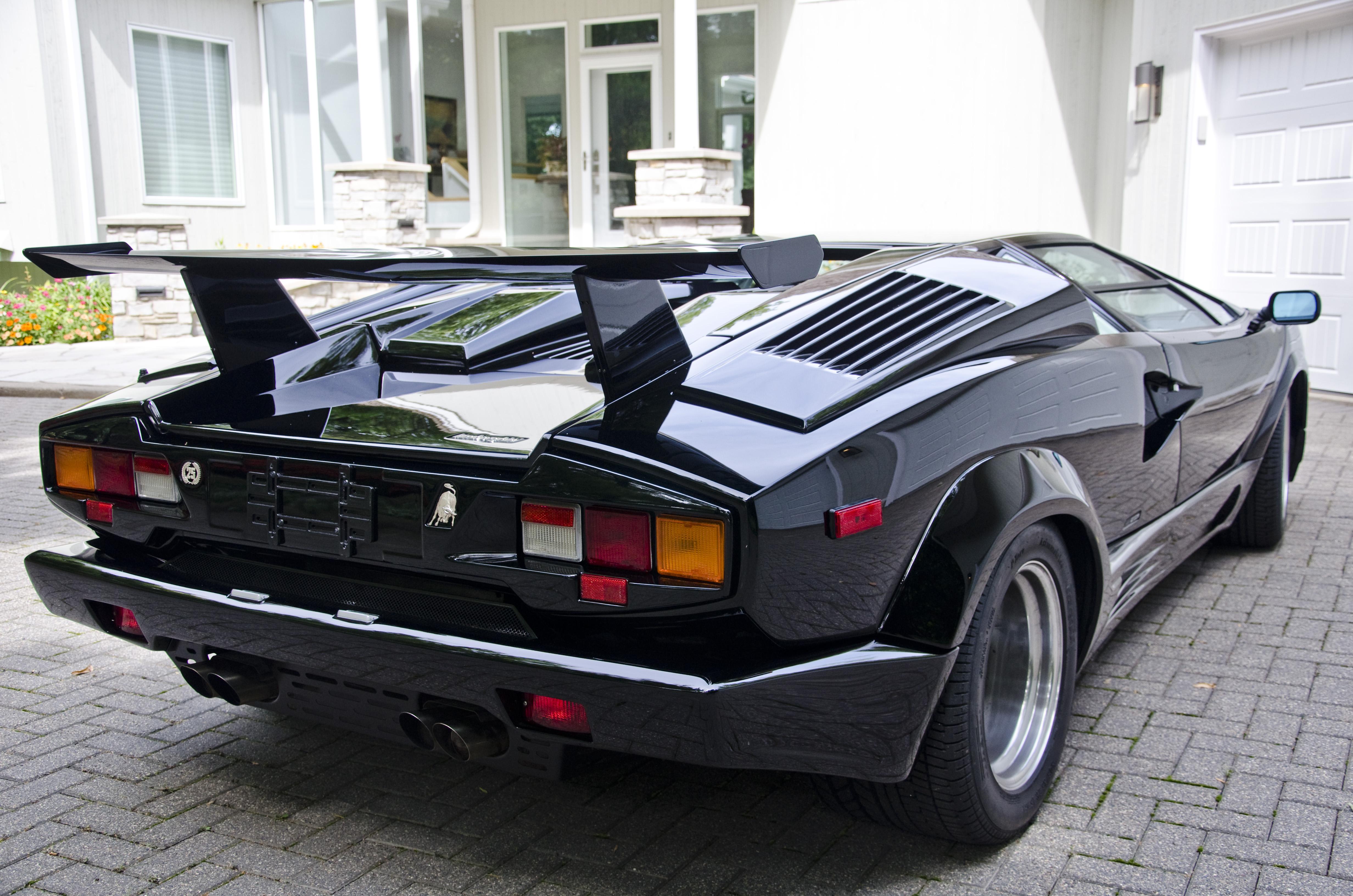 Free Photo Lamborghini Countach Sportscar Lamborghini Classic
