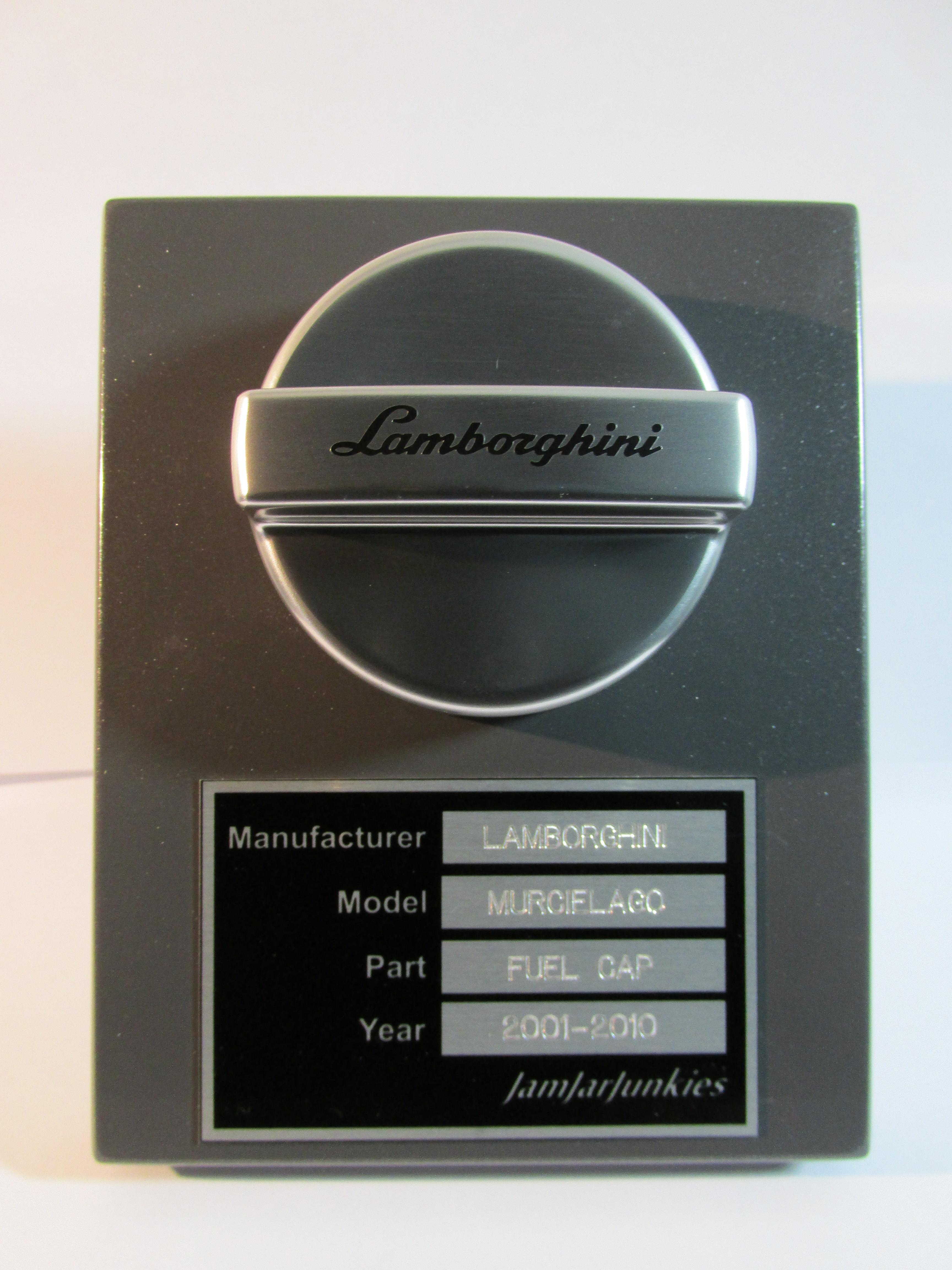 Lamborghini Fuel Cap | Jam Jar Junkies