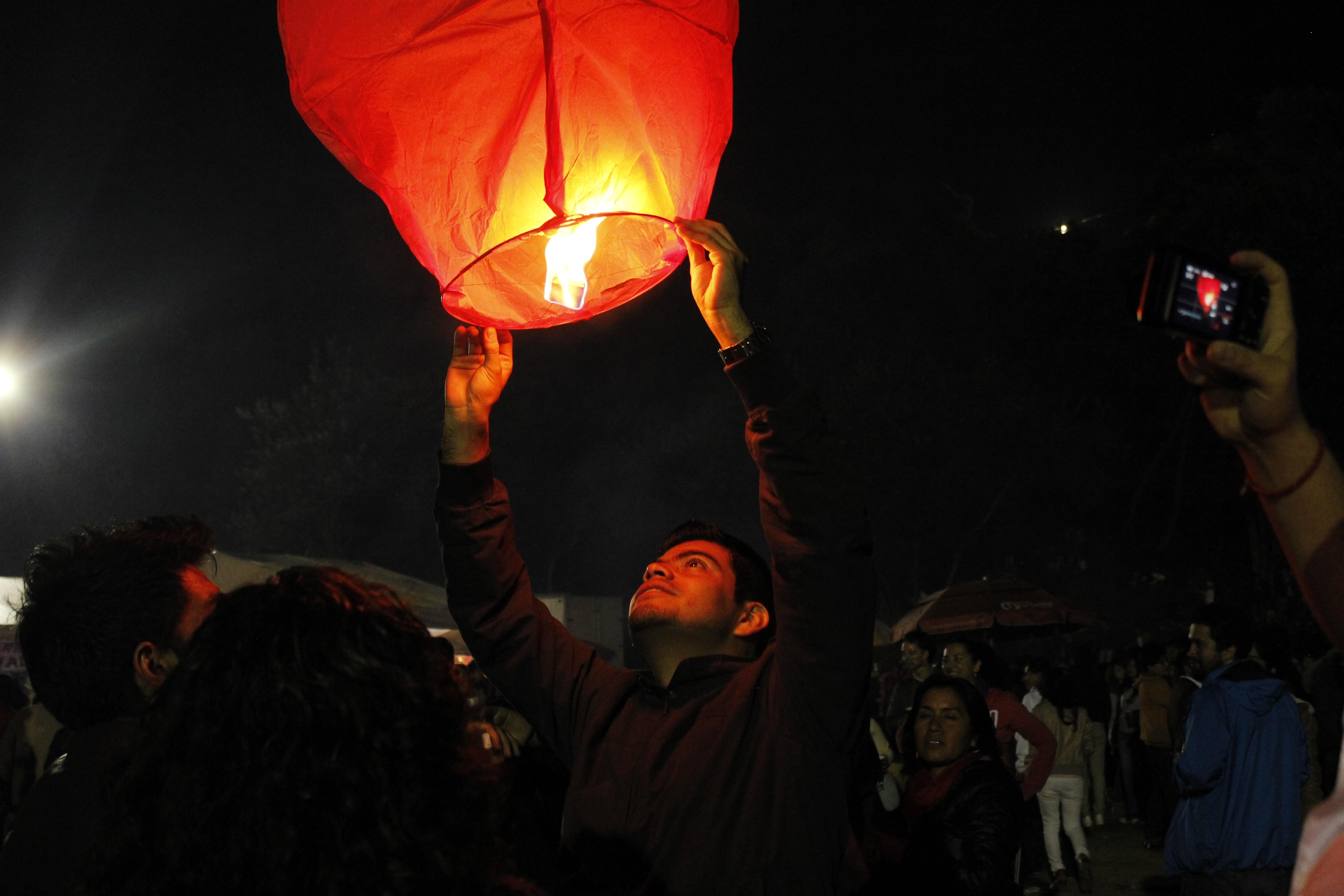 Lamp, Activity, Air, Balloon, Fly, HQ Photo