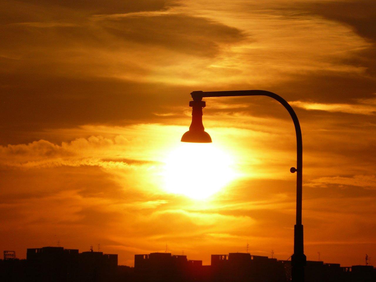 Lamp in the Morning, City, Lamp, Lantern, Light, HQ Photo