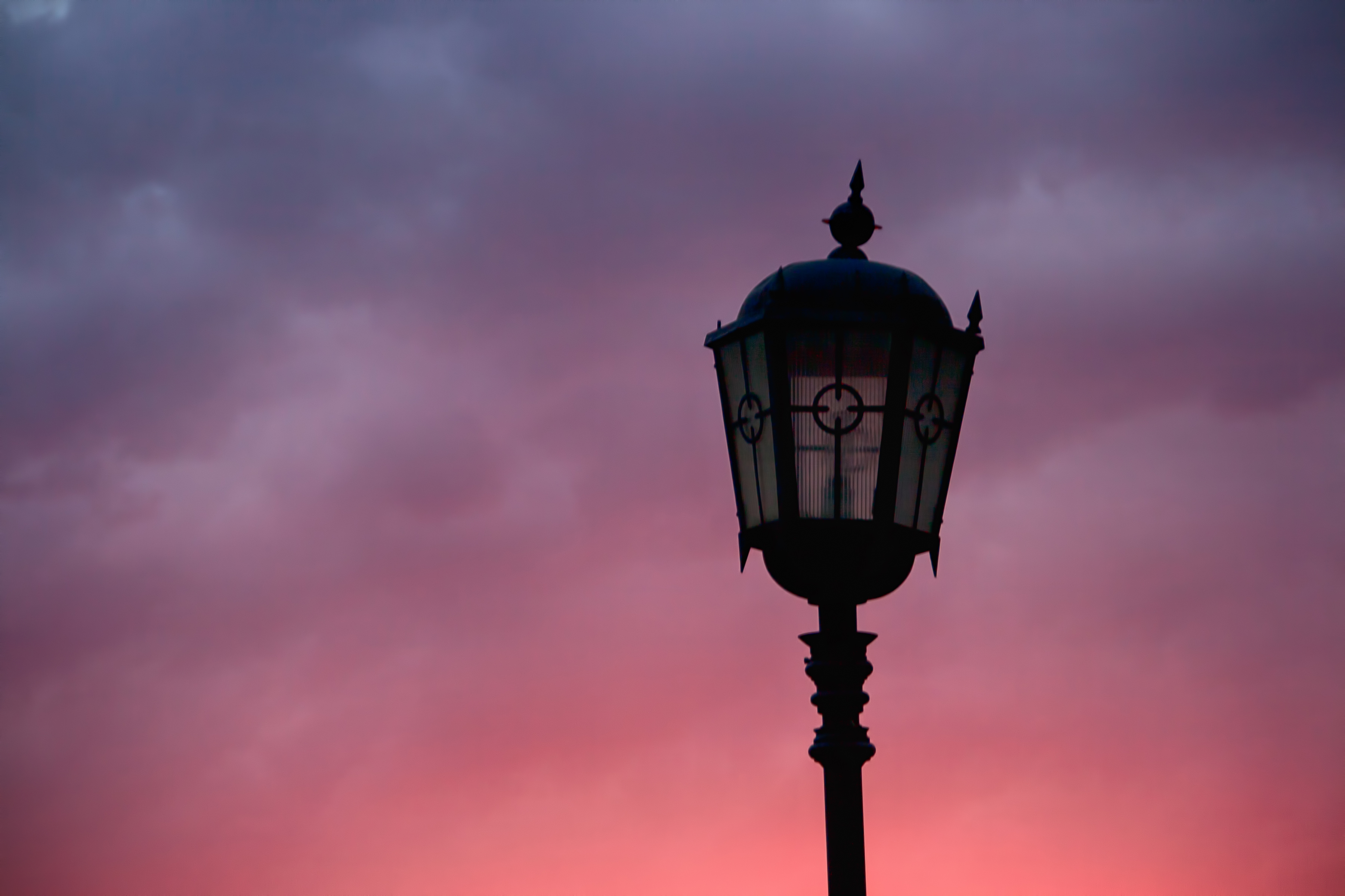 lamppost, Architecture, Lamp, Sunset, Street, HQ Photo
