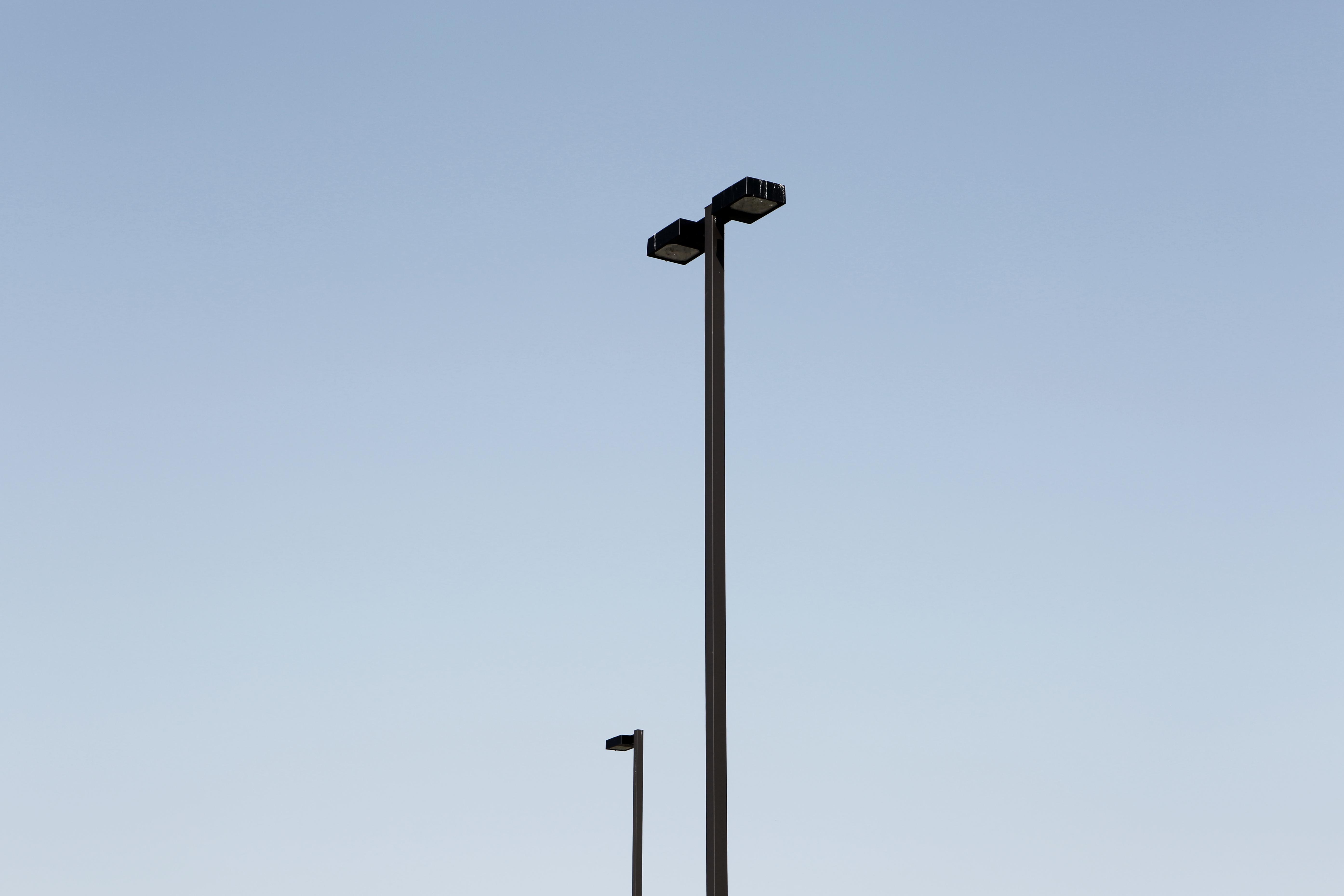Lamps, Light, Poles, HQ Photo
