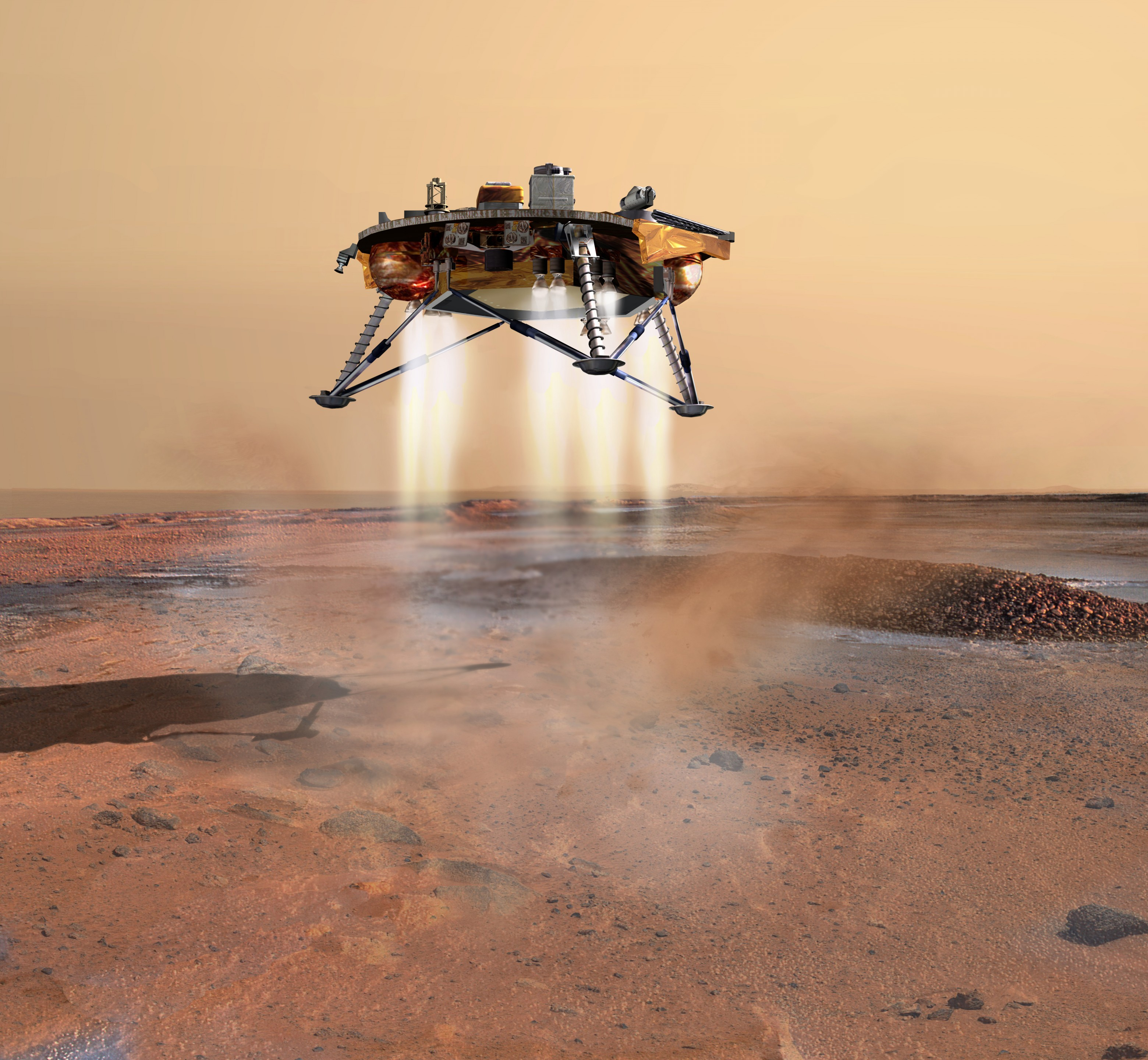 Phoenix Spacecraft Maneuvers for Mars Landing - Universe Today