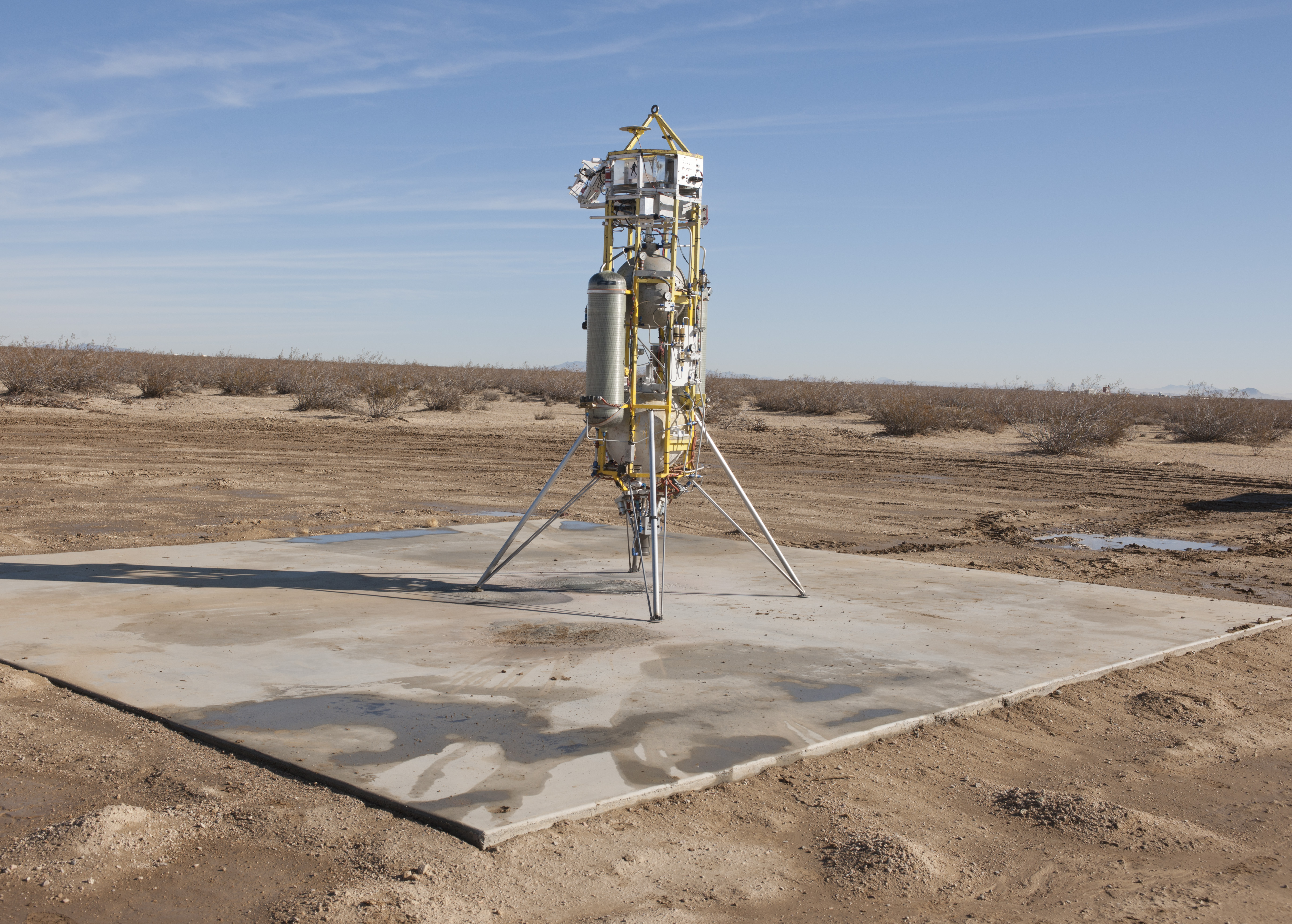 Successful Test Flights for Mars Landing Technology | NASA