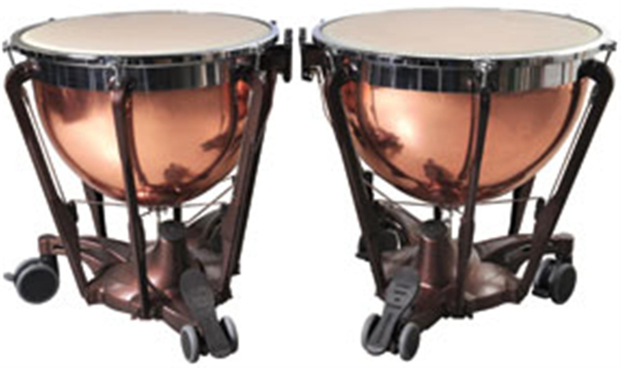 Adams Professional Gen II Smooth Copper Timpani Set - 26